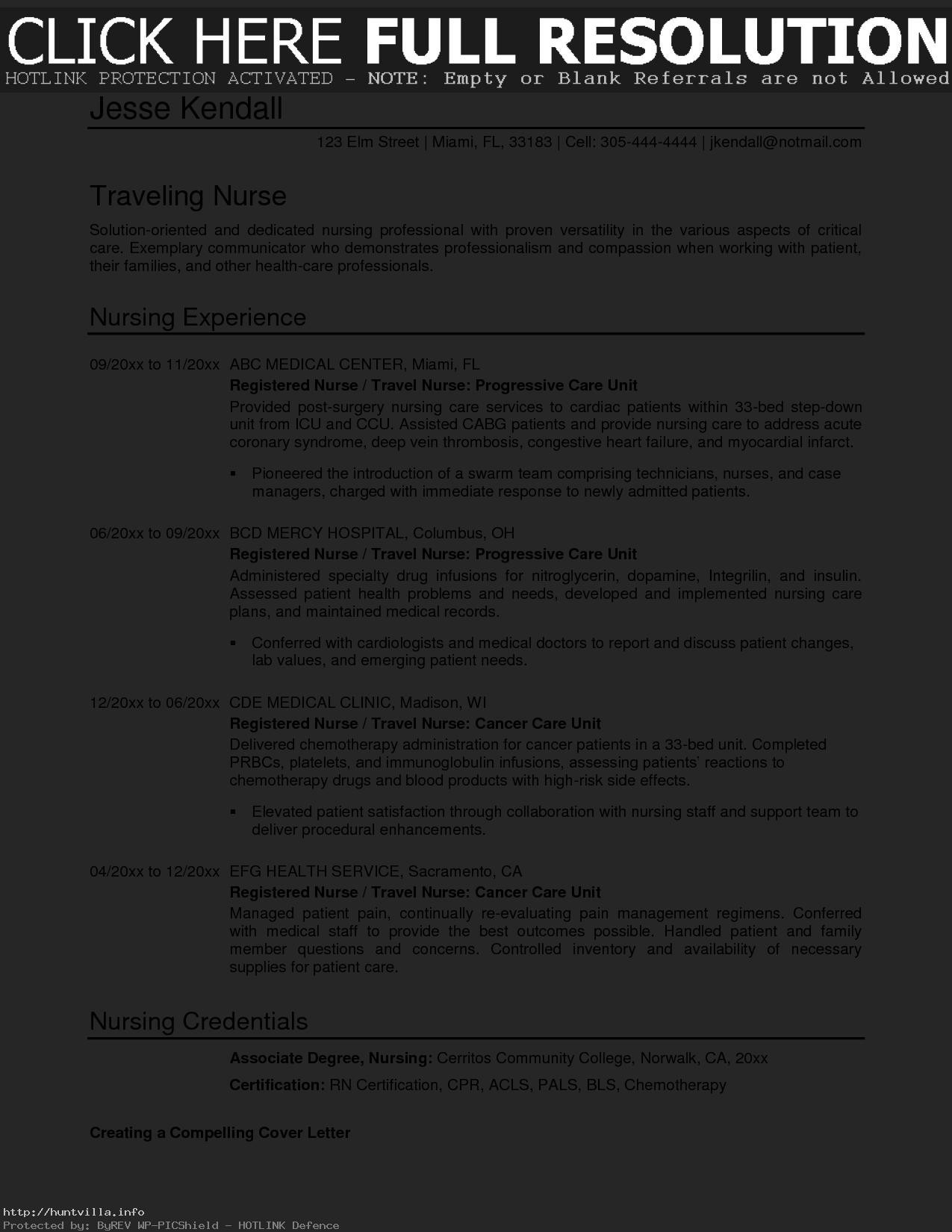 Resume for Med Surg Nurse - 25 Cath Lab Nurse Resume