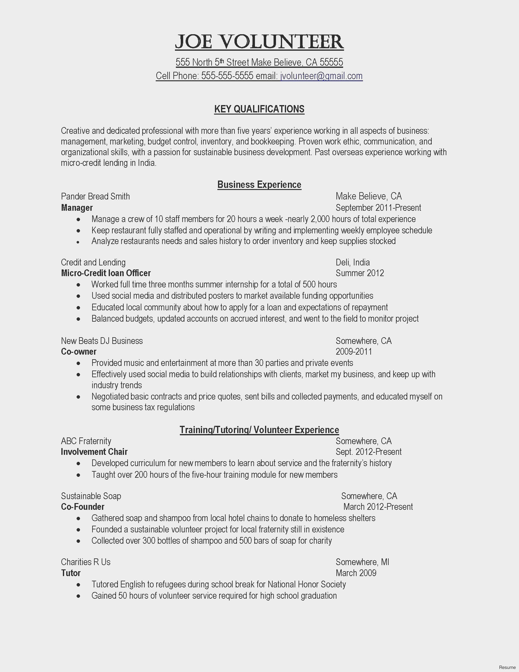 Resume for Music Industry - 26 Awesome Music Industry Cover Letter