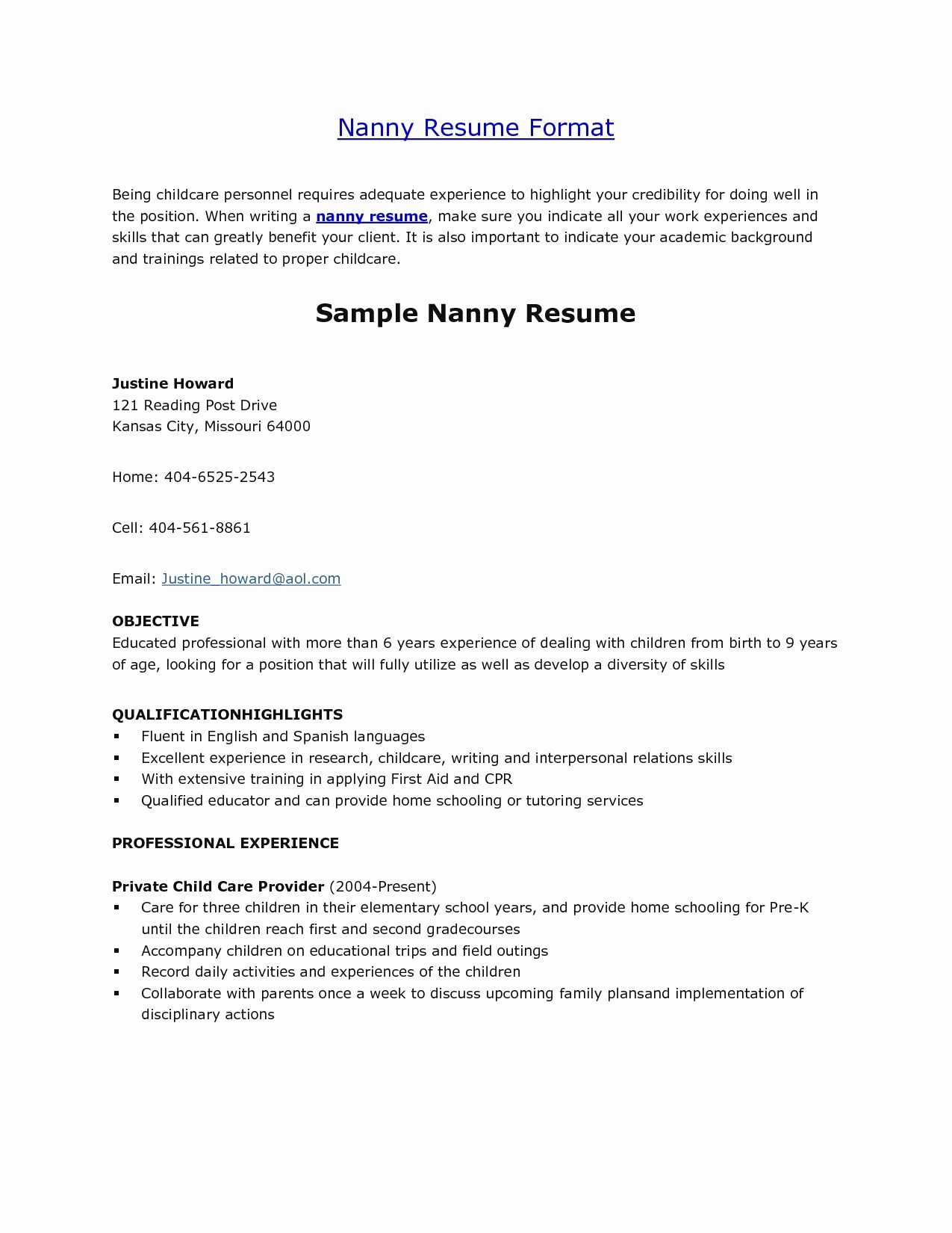 Resume for Peace Corps Example - Peace Corps Resume