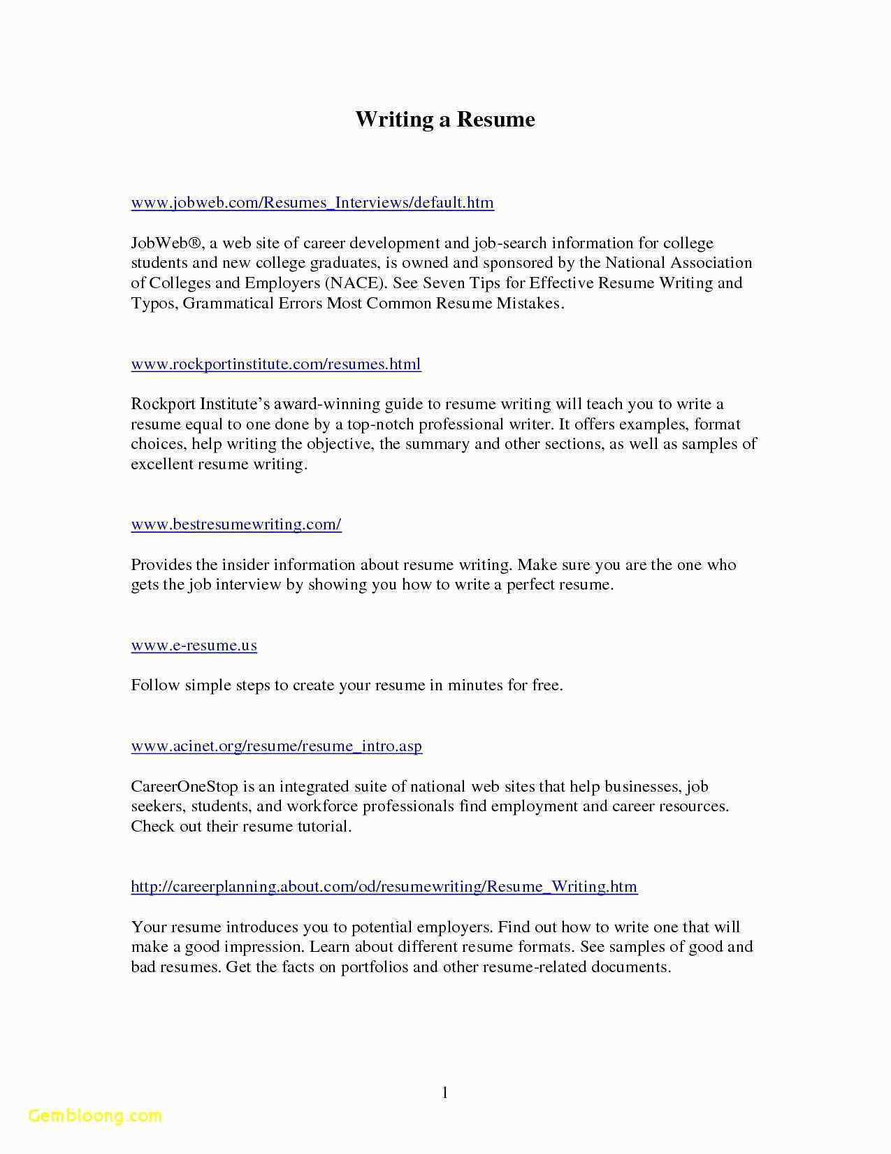 Resume for Service Industry - 70 Genuine Template for Customer Service Resume Occupylondonsos