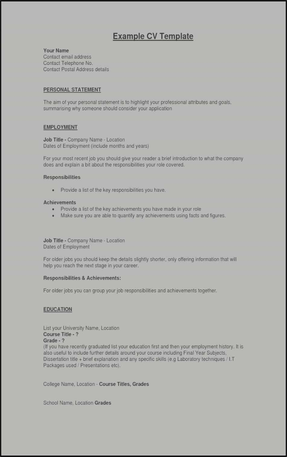 Resume for Service Industry - How to Make Resume Template Hospitality Free Resume Templates
