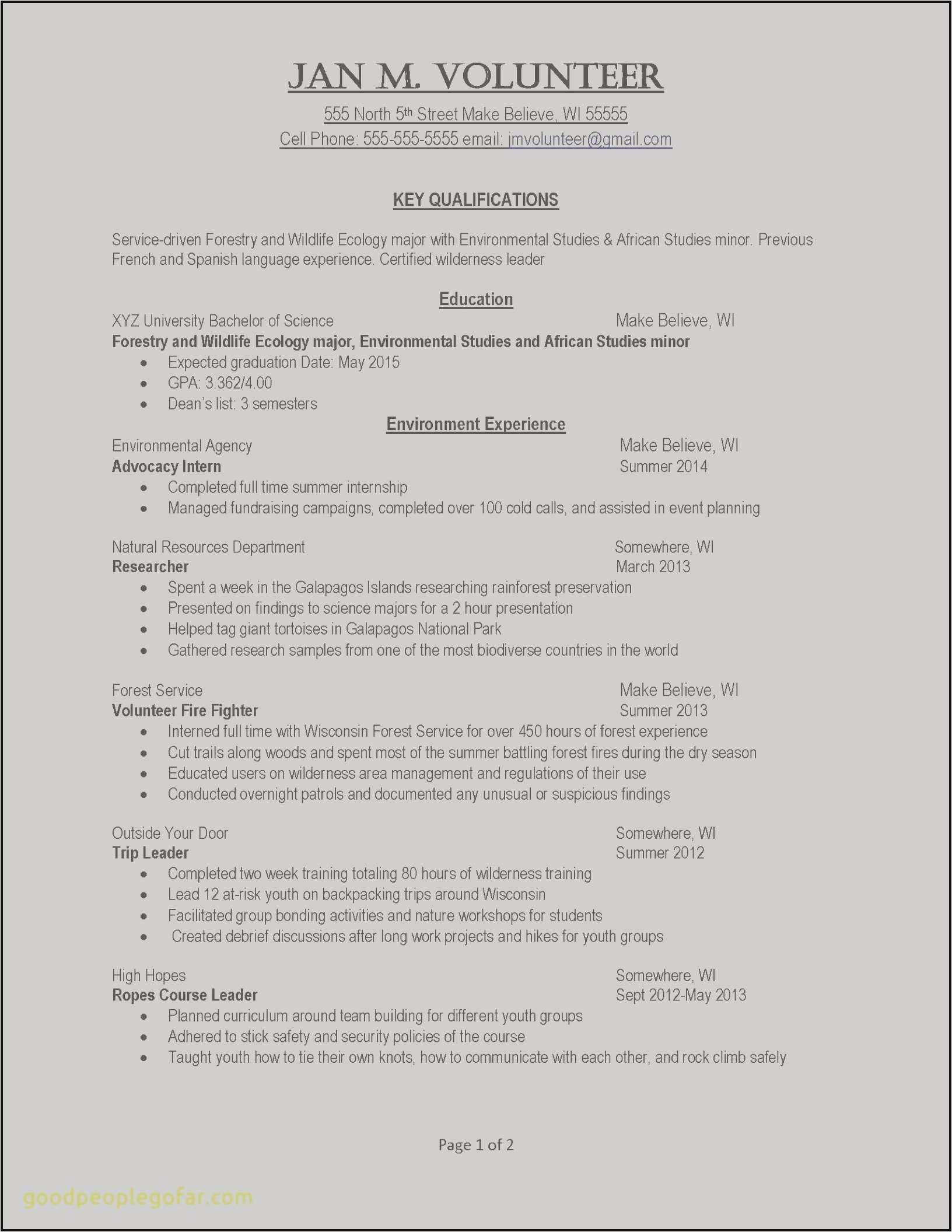 Resume for Summer Internship - Make My Own Resume Free Example Perfect Resume Fresh Examples