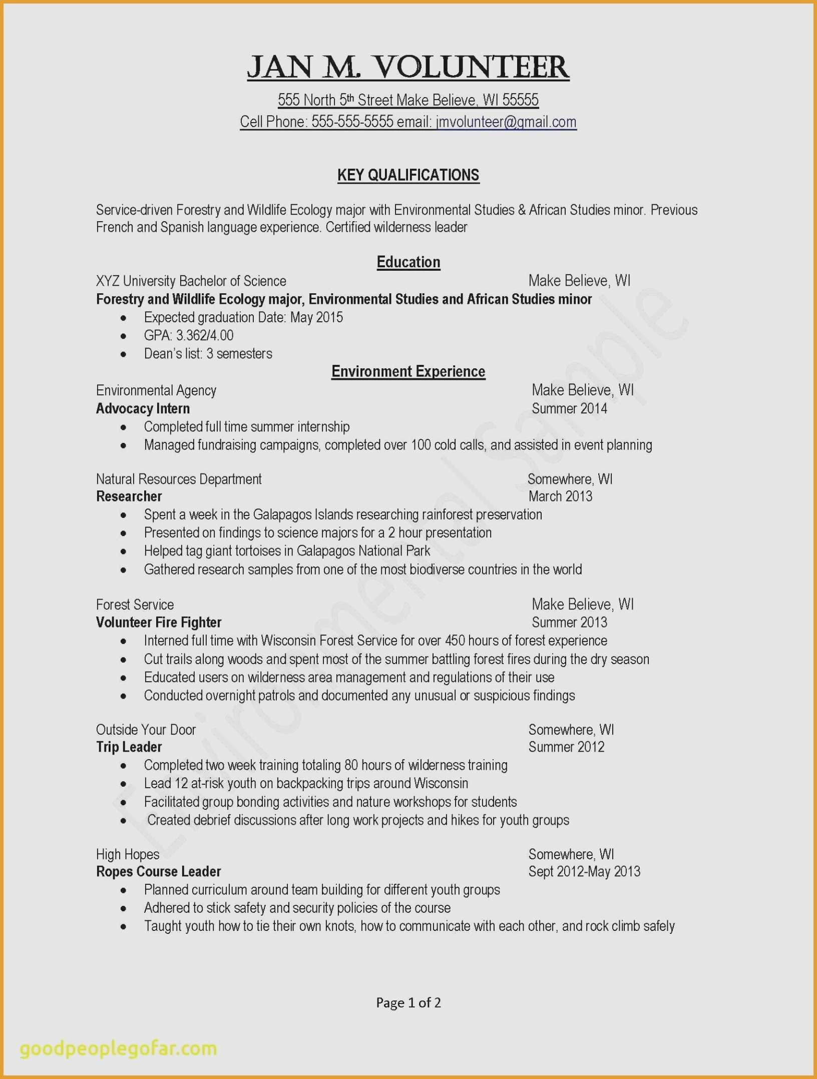 Resume for Summer Job - Part Time Jobs Resume Example Paragraphrewriter