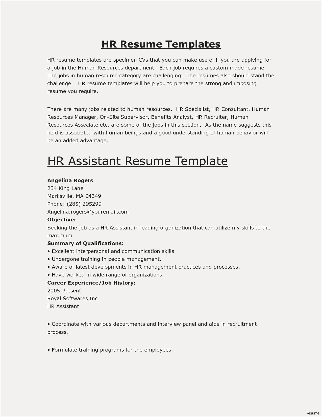 Resume format for Engineers - Engineering Resumes Templates Save Fresh Pr Resume Template Elegant