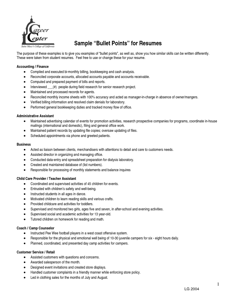 Resume Ideas for Stay at Home Moms - Resume Back to Work Dscmstat Dscmstat