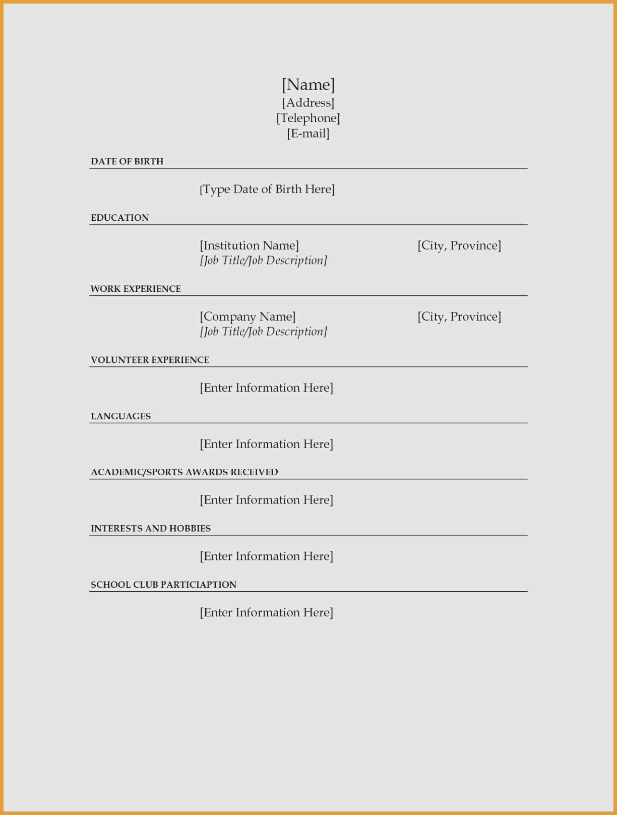 Resume Maker Free Online - Build Resume Line Inspirational Beautiful Best Resume Maker