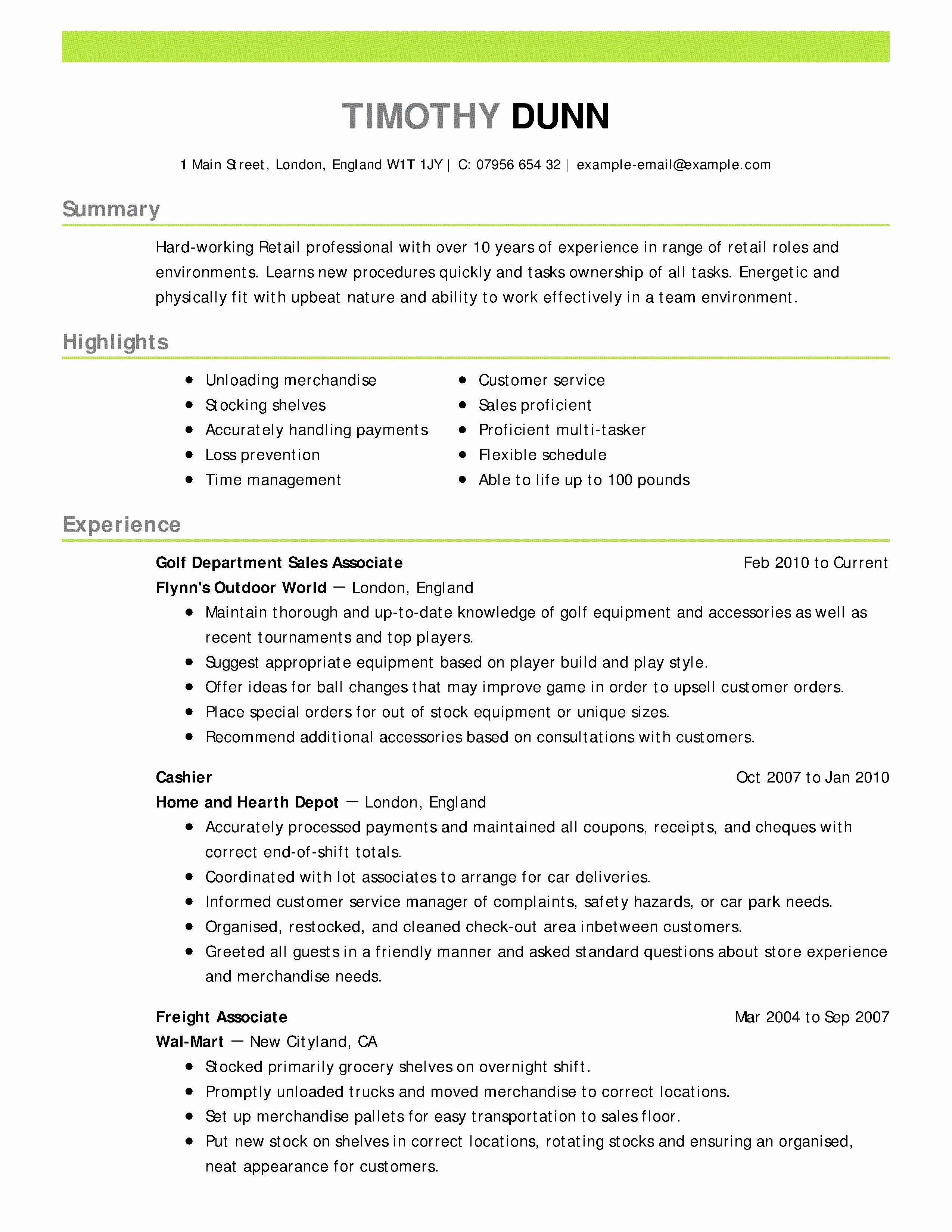 8 Resume Objective for Career Change Examples Collection | Resume