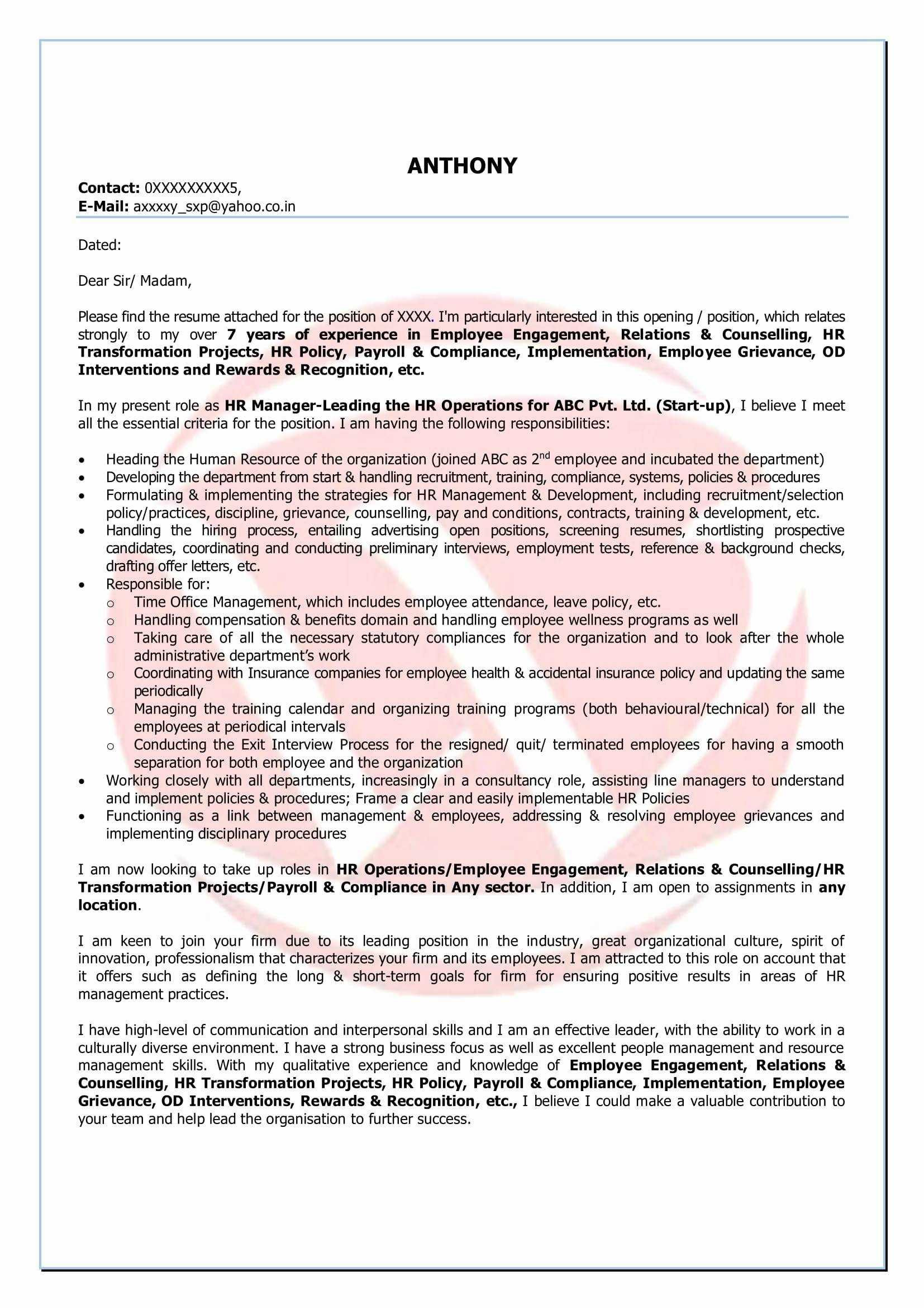 Resume Opening Statements Examples - Cover Letter Opening Statement Fresh Privacy Policy Statement with