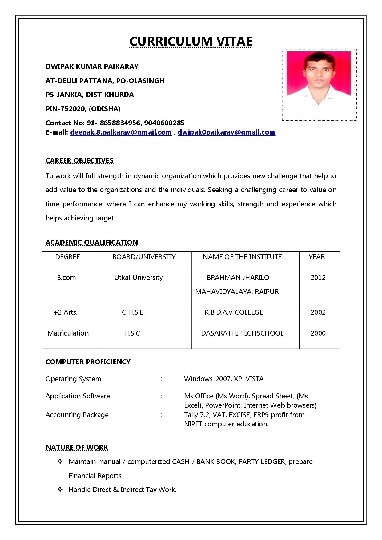 13 resume opening statements examples collection
