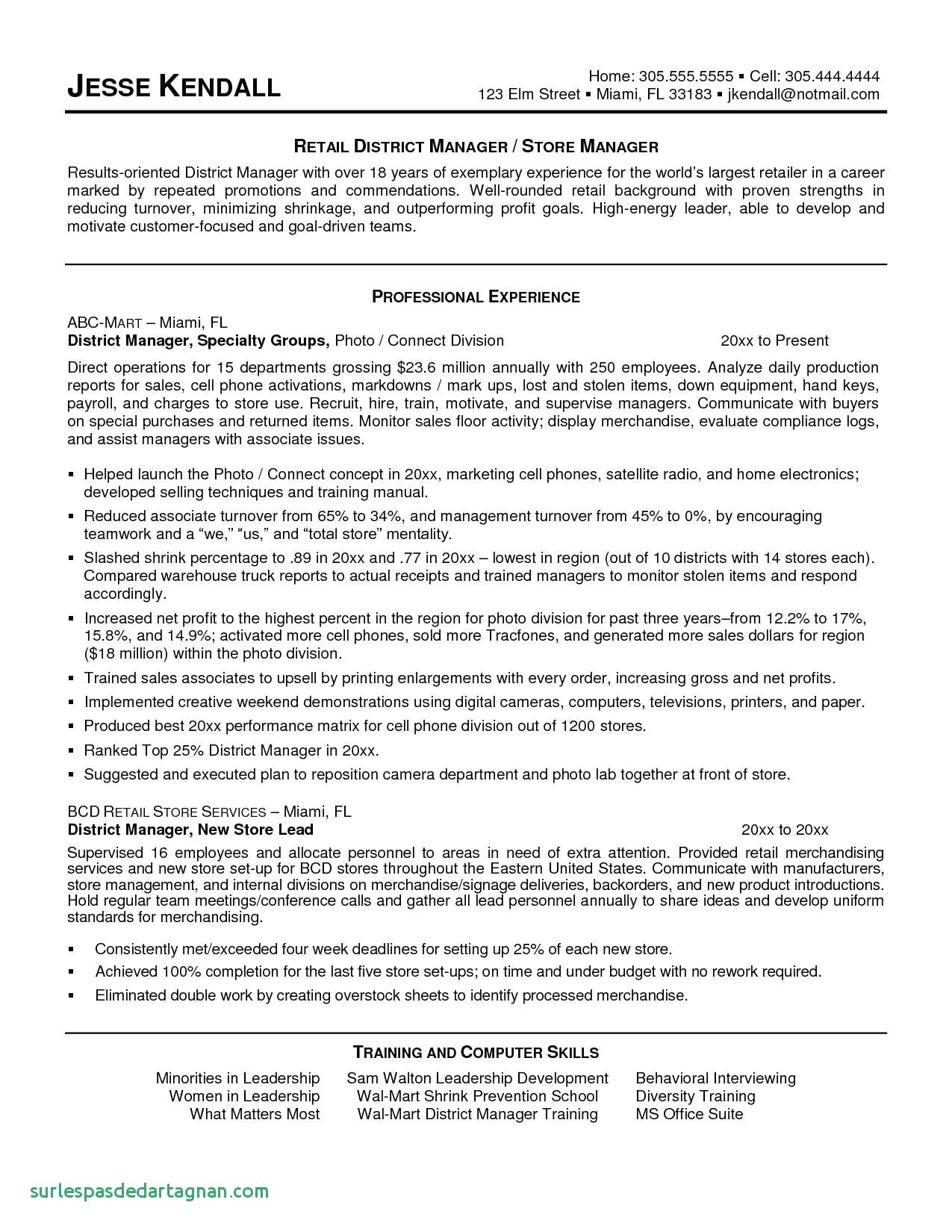 Resume Personal Statement - format Of A Personal Statement
