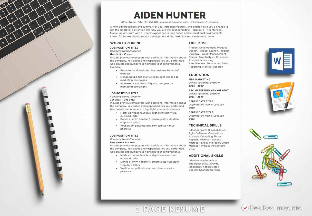 Resume Printing Near Me - Resume Printing Near Me Lovely Resume Template Aiden Hunter
