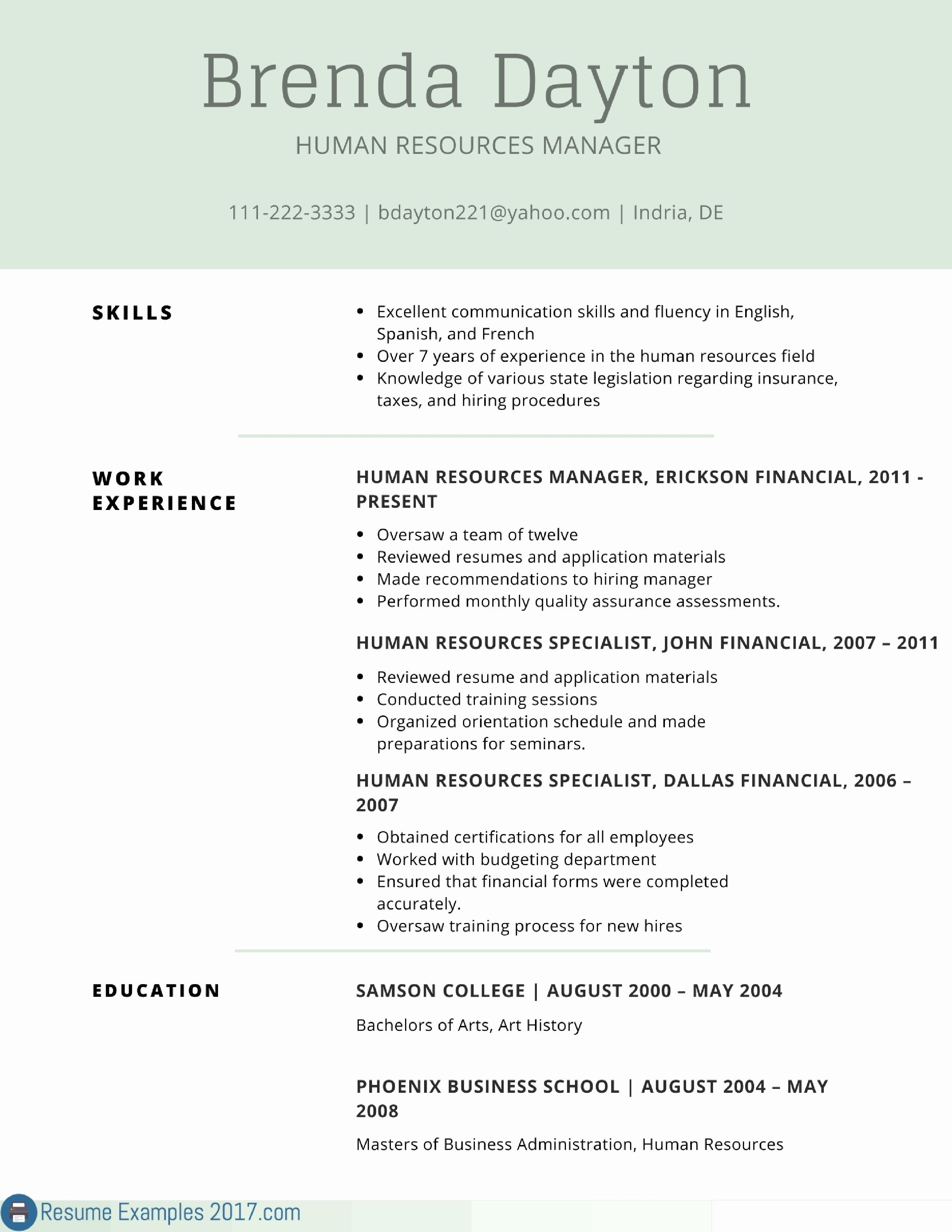 Resume References Template - Reference Template for Resume Inspirational Catering Resume