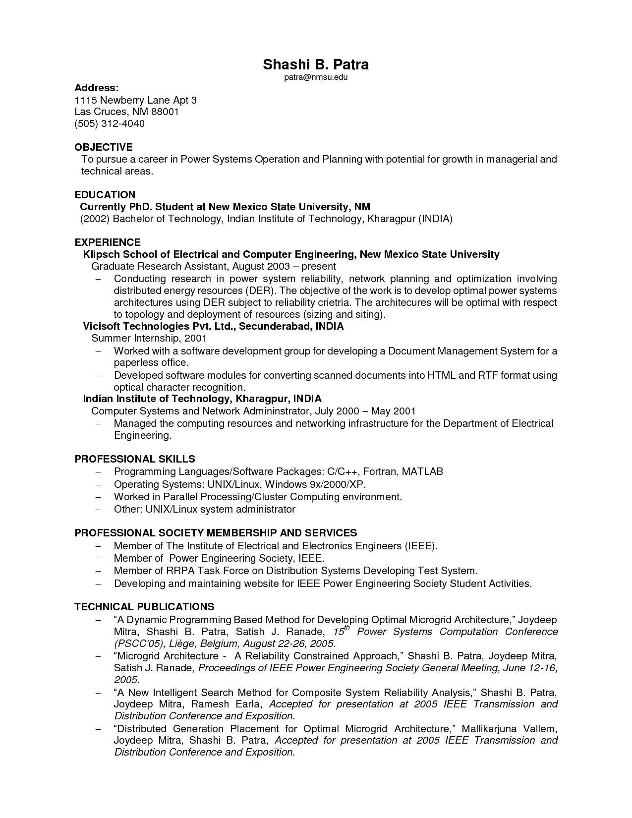 Resume Samples No Experience - Resume Templates for Students with No Experience Valid Resume for No