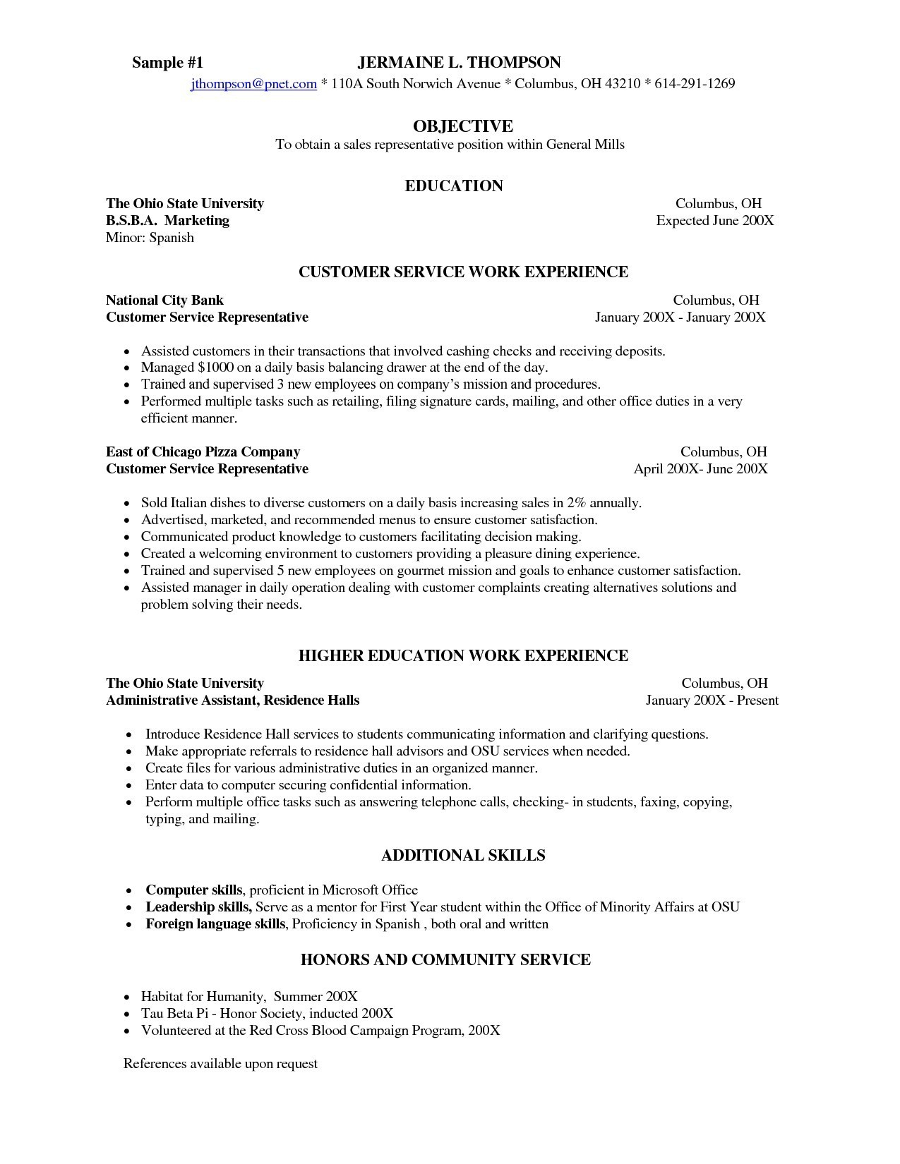Resume Services Chicago - Great Objectives for Resumes Awesome Cover Letter for Resumes Resume