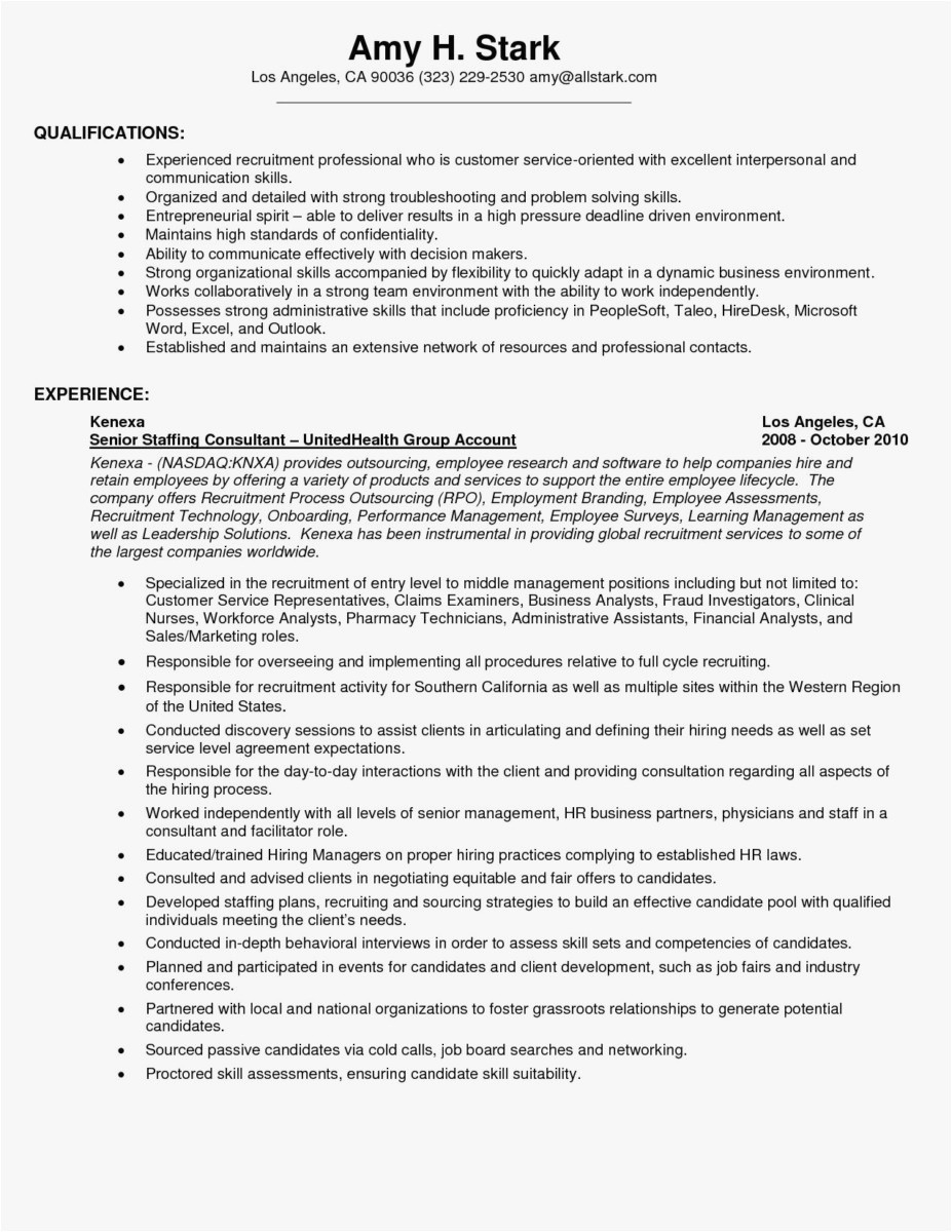 Resume Services Los Angeles - Writing A Resume Objective Awesome New General Resume Objective
