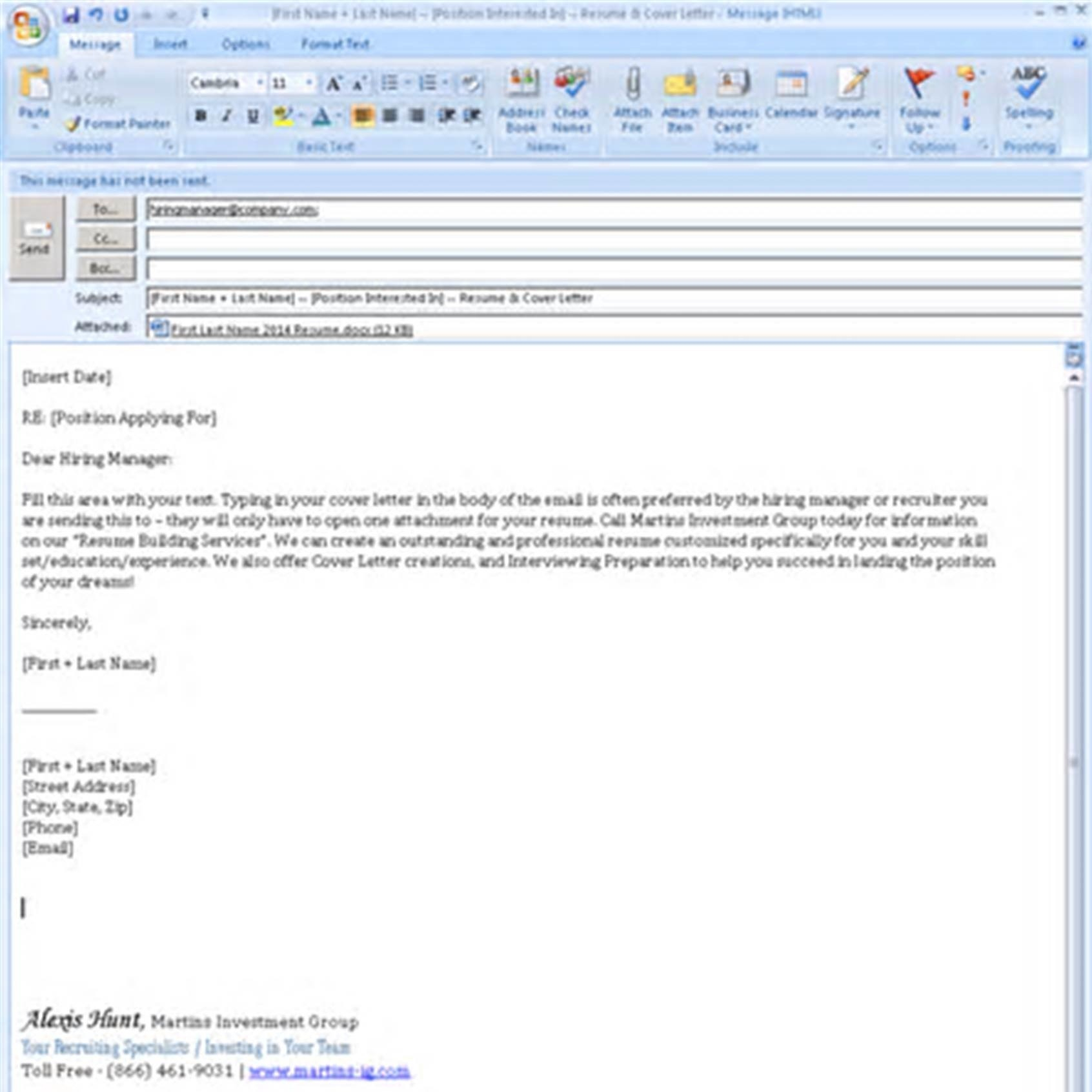 Resume Sites for Recruiters - Sending Resume to Recruiter Email Lovely Emailing A Resume Best