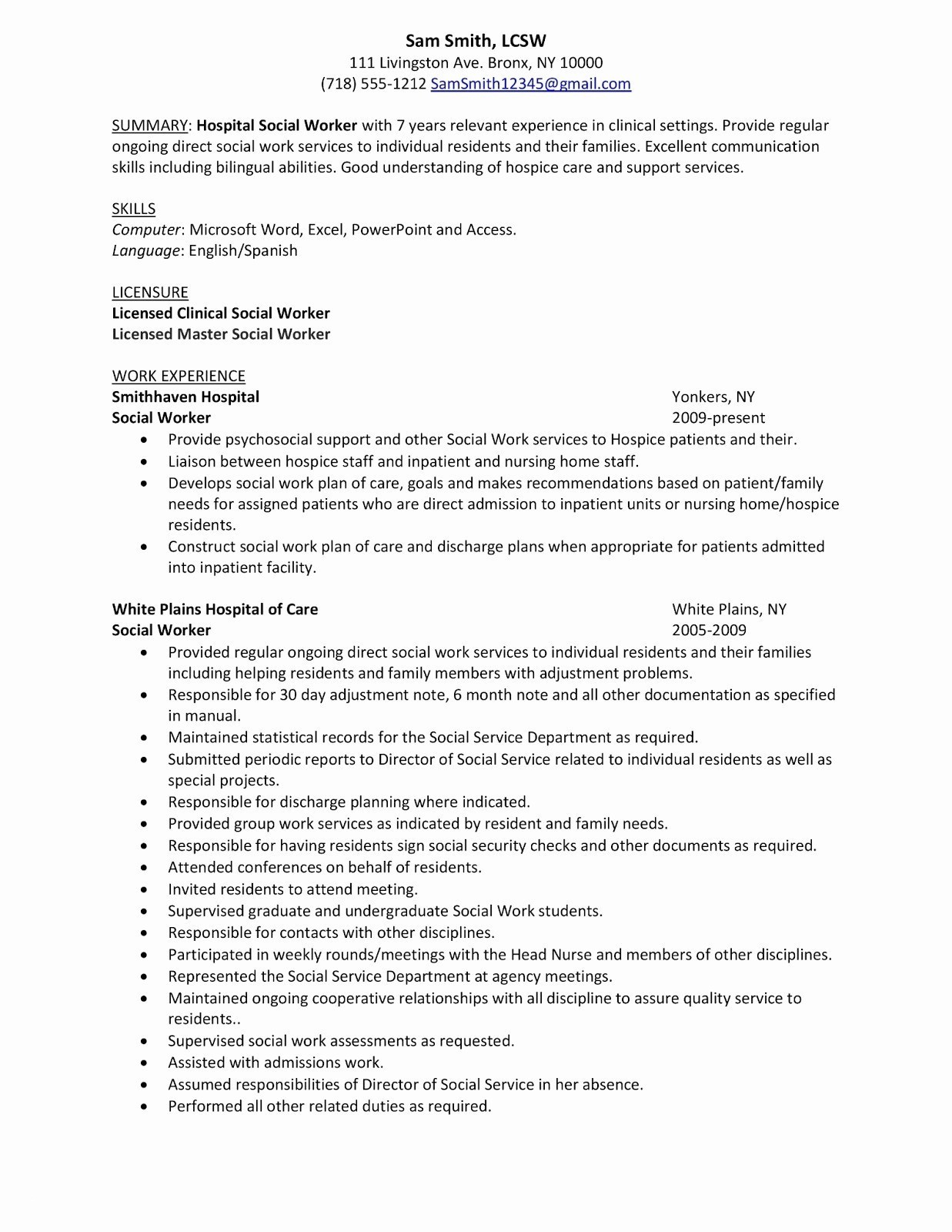 Resume Summary Section - 18 Resume Summary Section