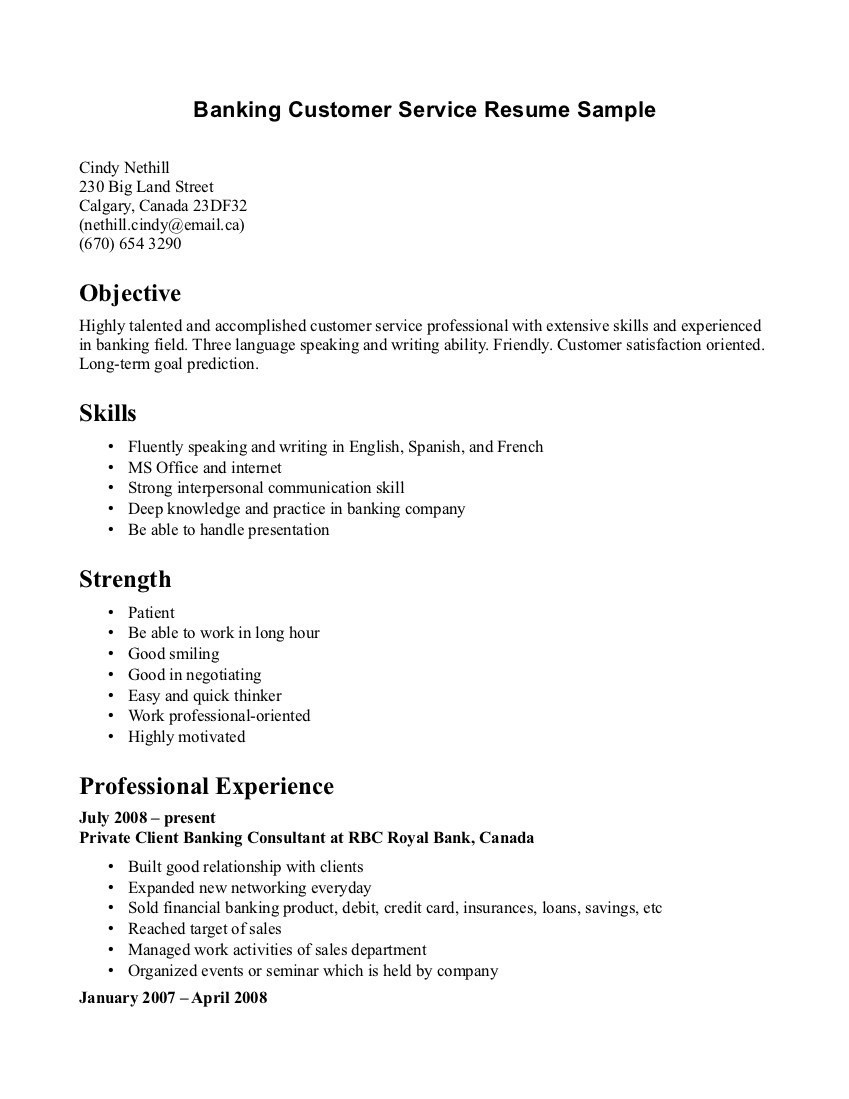 Resume Template 2018 - Resume Templates 2018 Canada New Customer Service Resume Template
