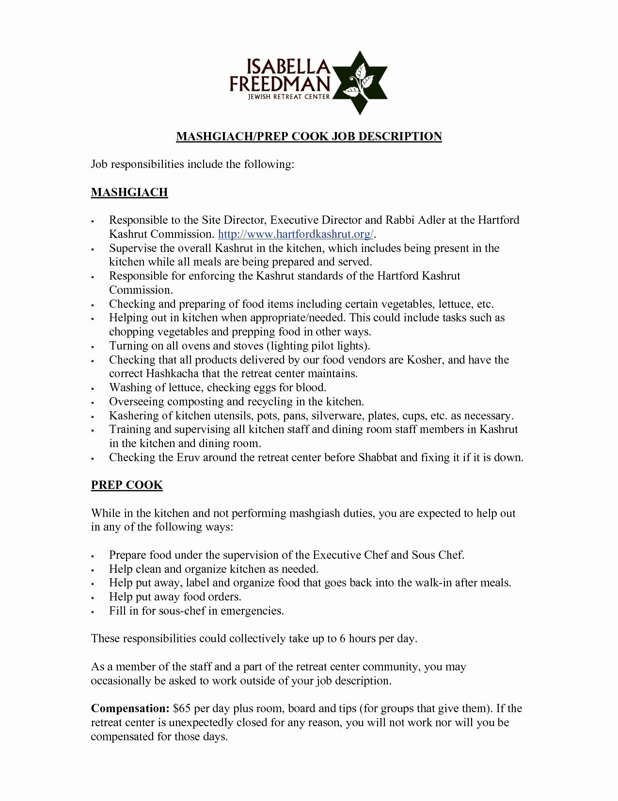 Resume Template Chef - 19 Executive Chef Resume