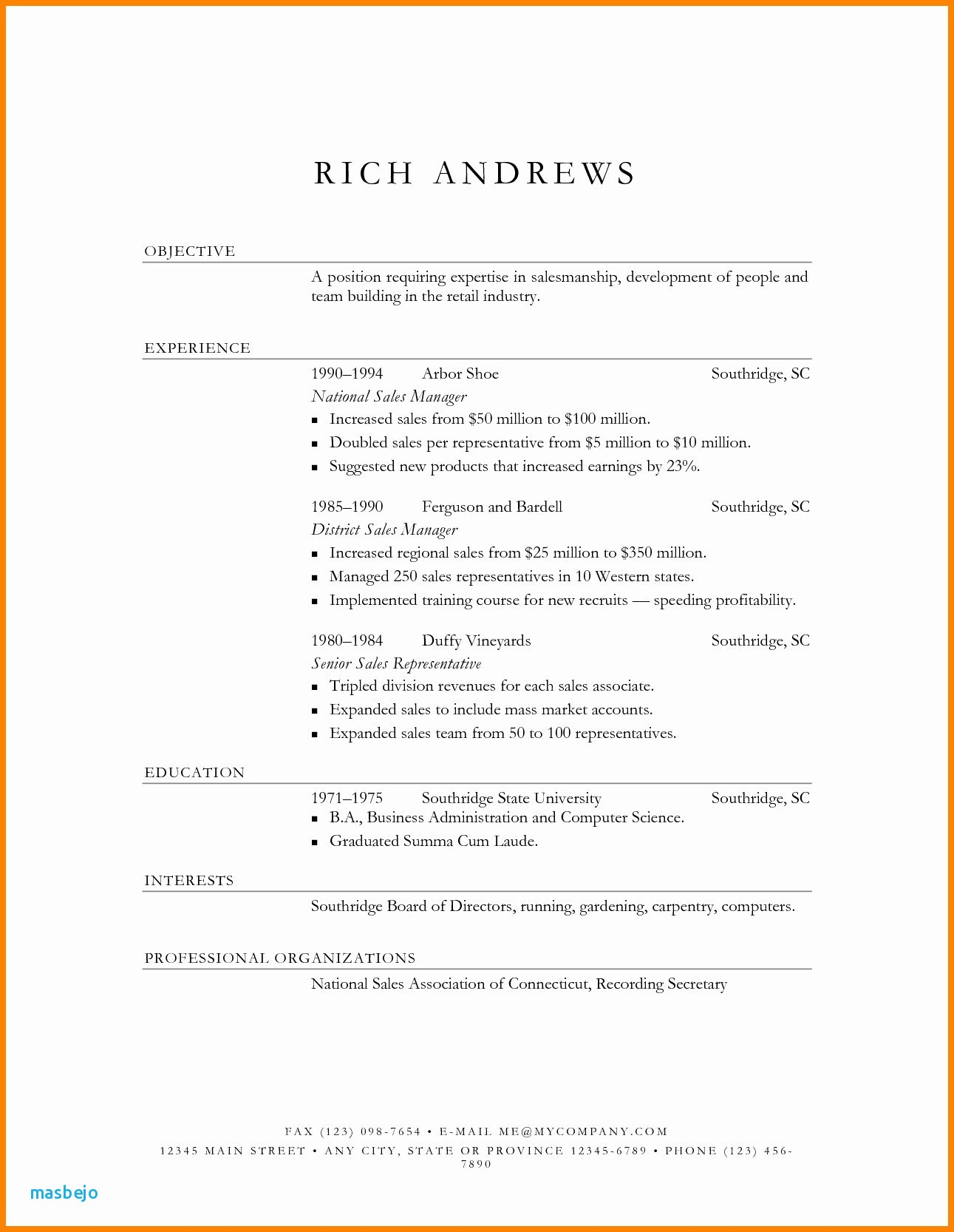 Resume Template Computer Science - Puter Science Resume Template Fresh Puter Science Resume Template