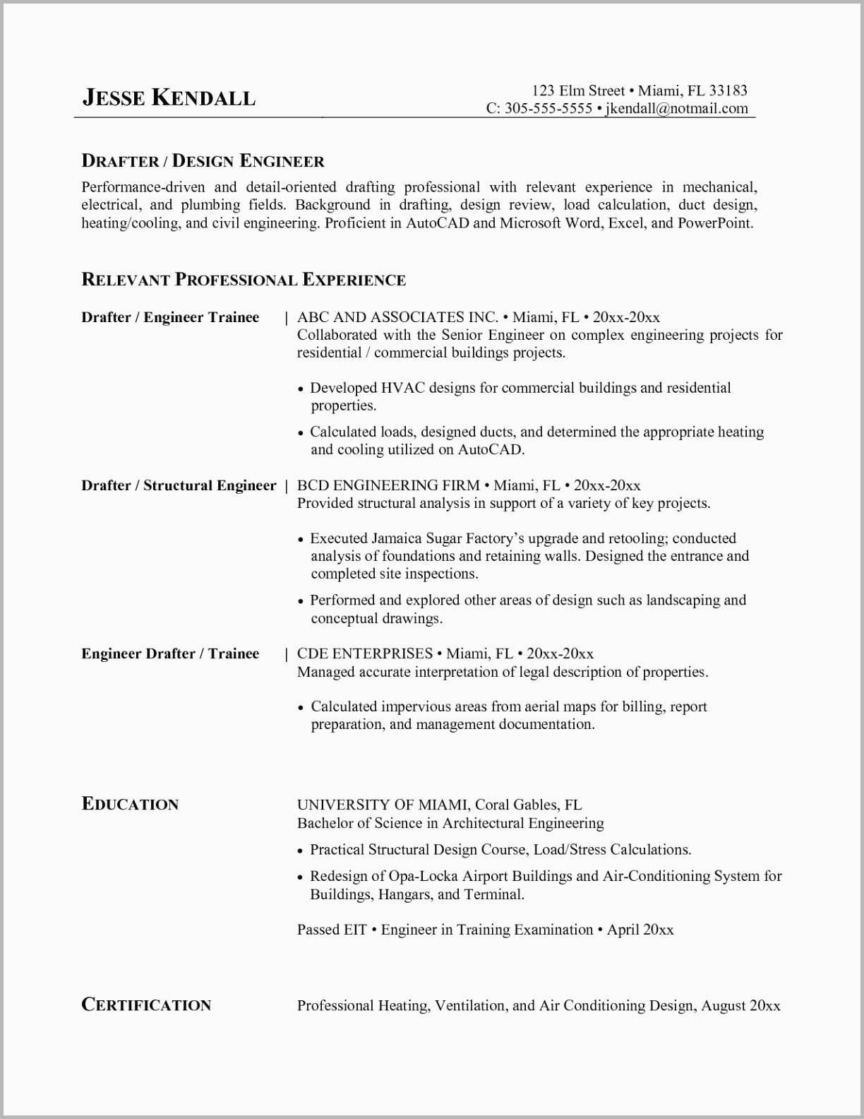 Resume Template for Electrician - Journeyman Electrician Resume Beautiful Template