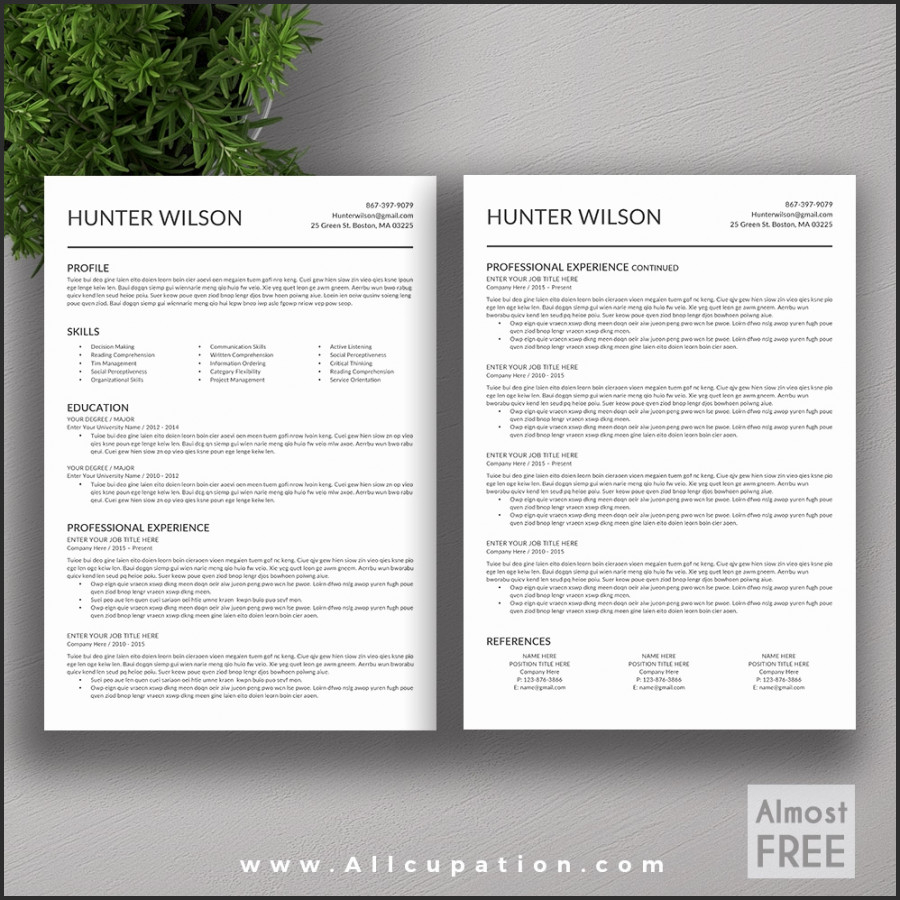 Resume Template for Mac Pages - Resume Templates Free Resume Templates for Mac Pages Apple Pages