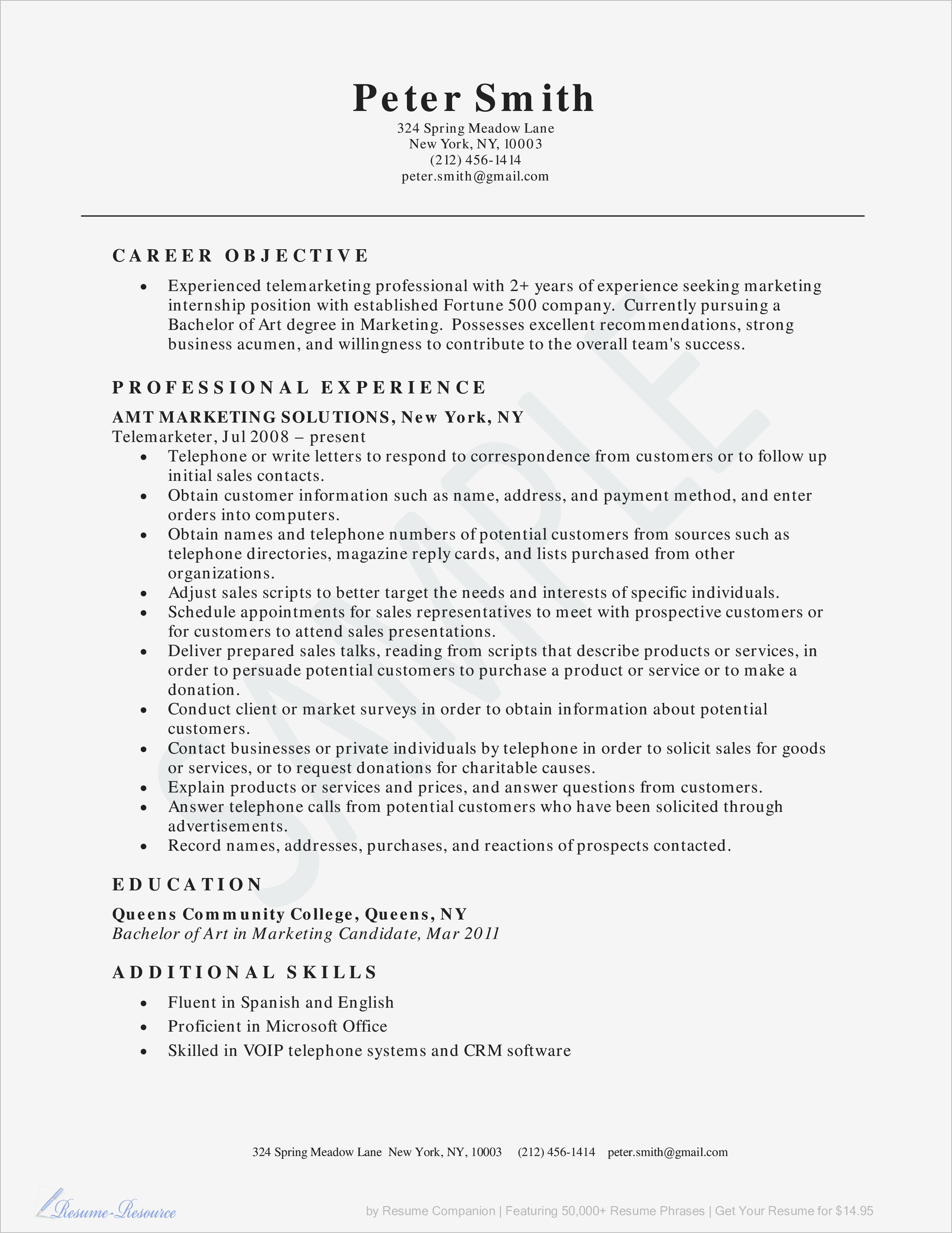 Resume Template for Retail Sales associate - How to Write A Resume for Sales associate Reference Sales