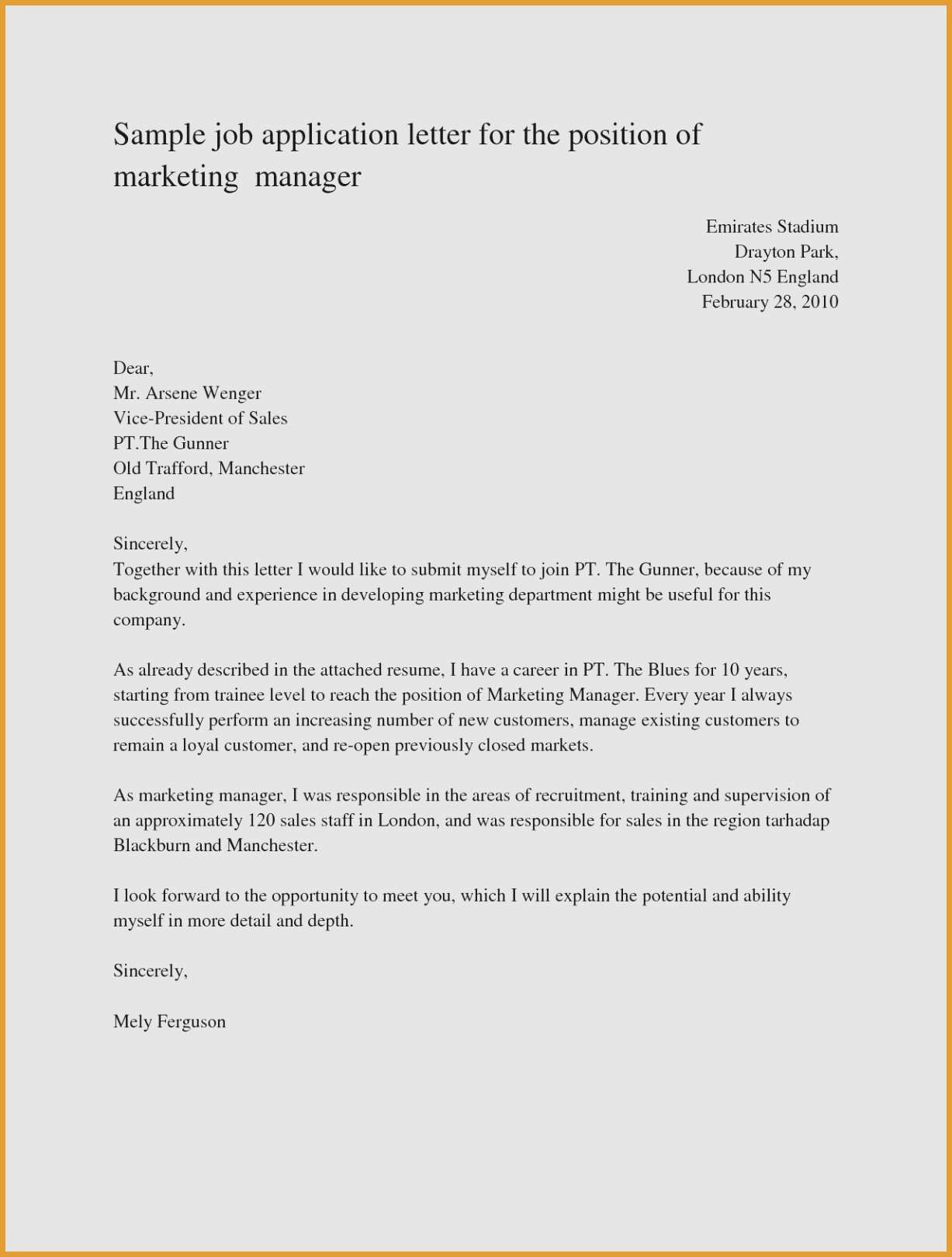 Resume Template for Sales Manager - Sales Manager Resume Templates