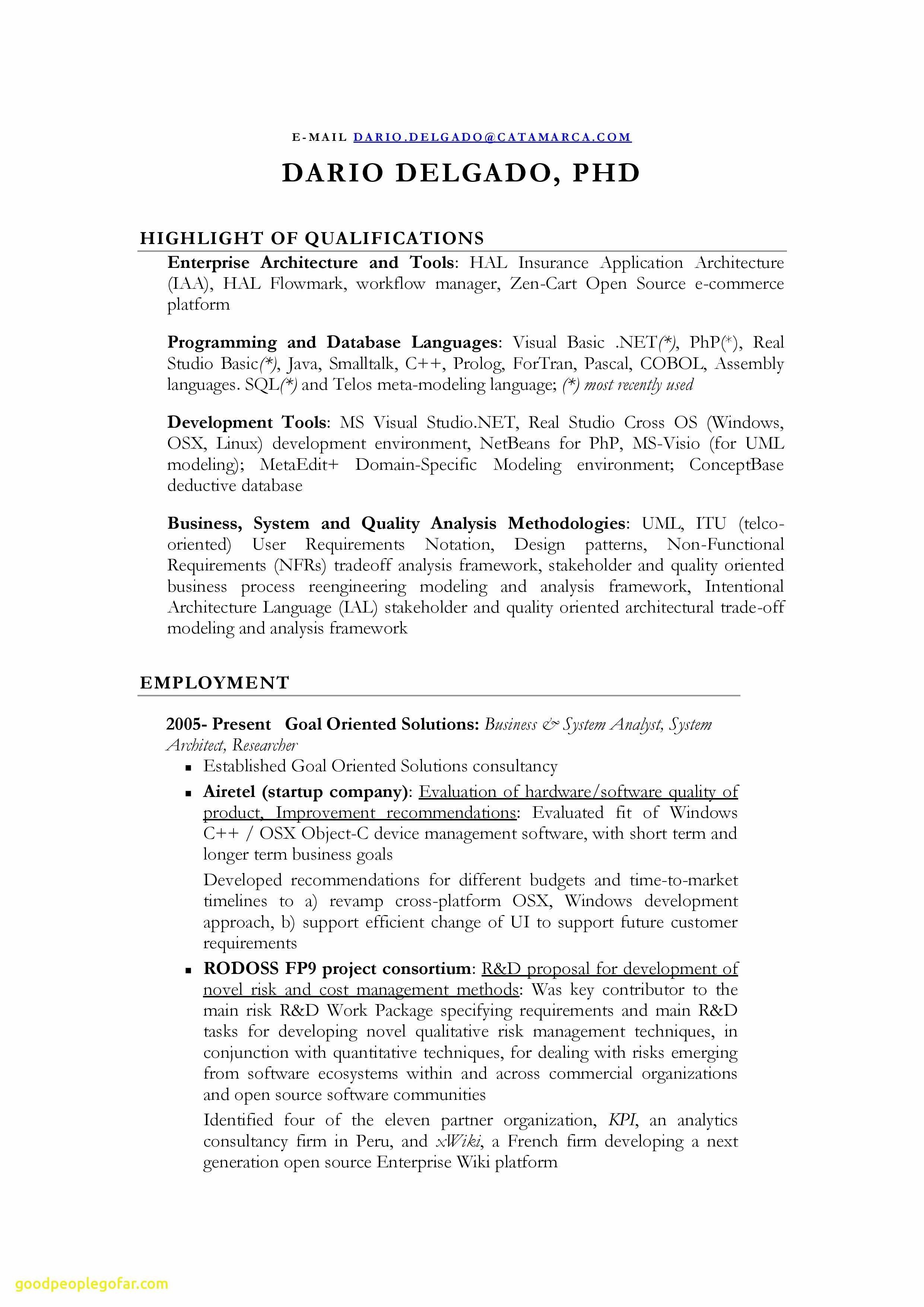 Resume Template for Secretary - Executive Secretary Resume Lovely Resume Template Executive