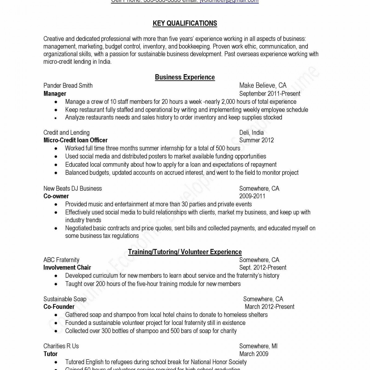 Resume Template for Undergraduate Student - 35 Beautiful Resume for College Students B3s