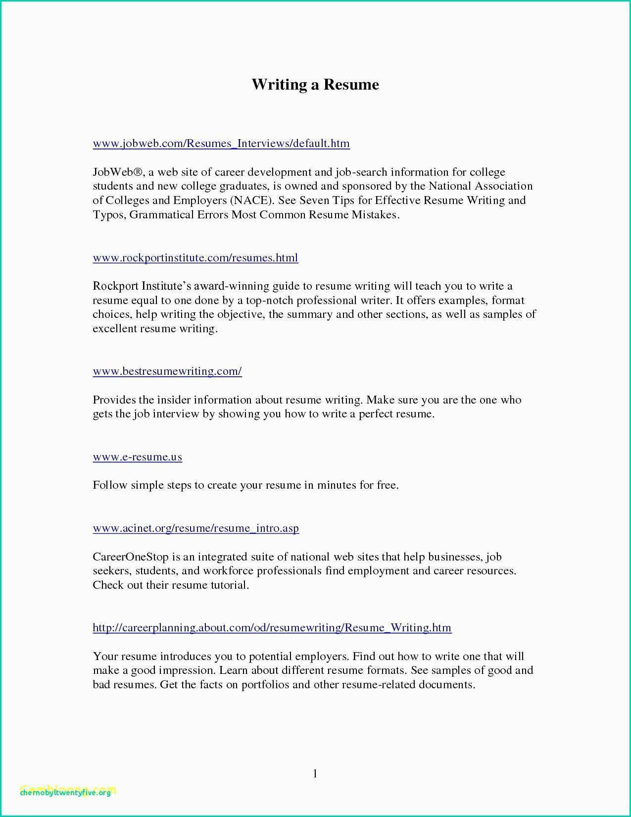 Resume Template for Writers - 77 Designs social Work Resume Template