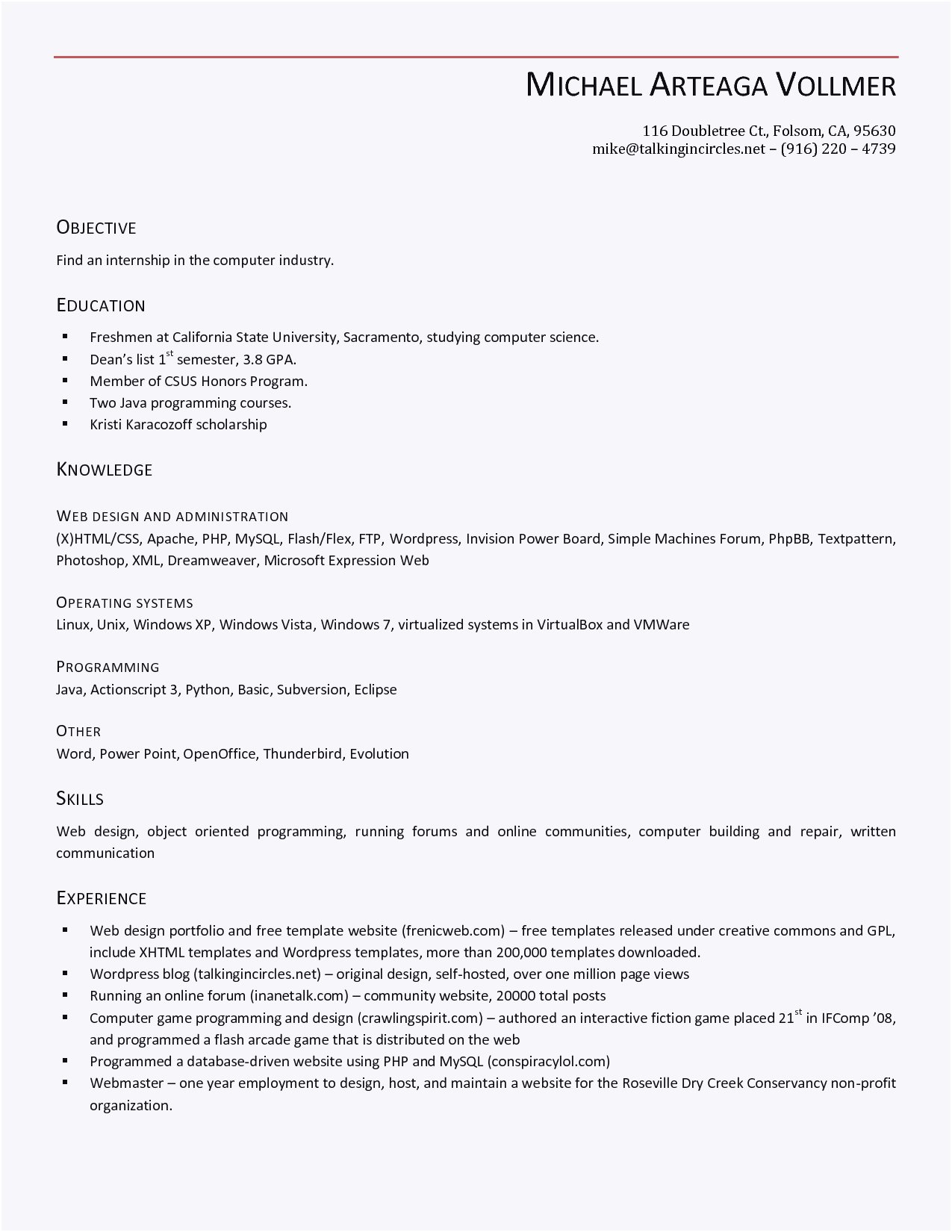 Resume Template Open Office Writer - Inspirierende Lebenslauf Vorlage Libreoffice