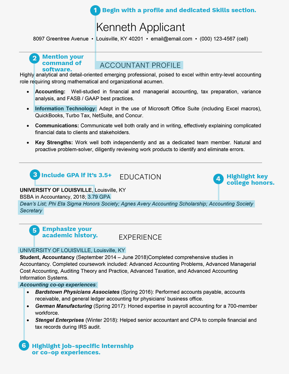 Resume Templates for College Students - Resume Tips for College Students and Graduates