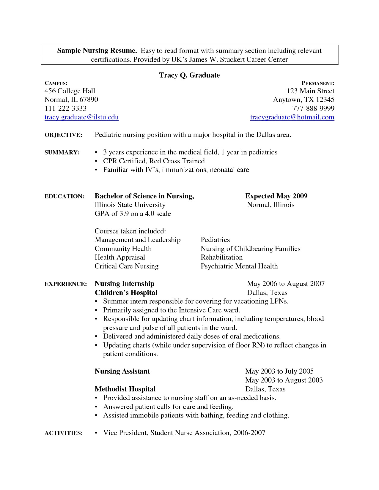 Resume Templates for Medical Field - 39 Awesome Sample Resume Skills