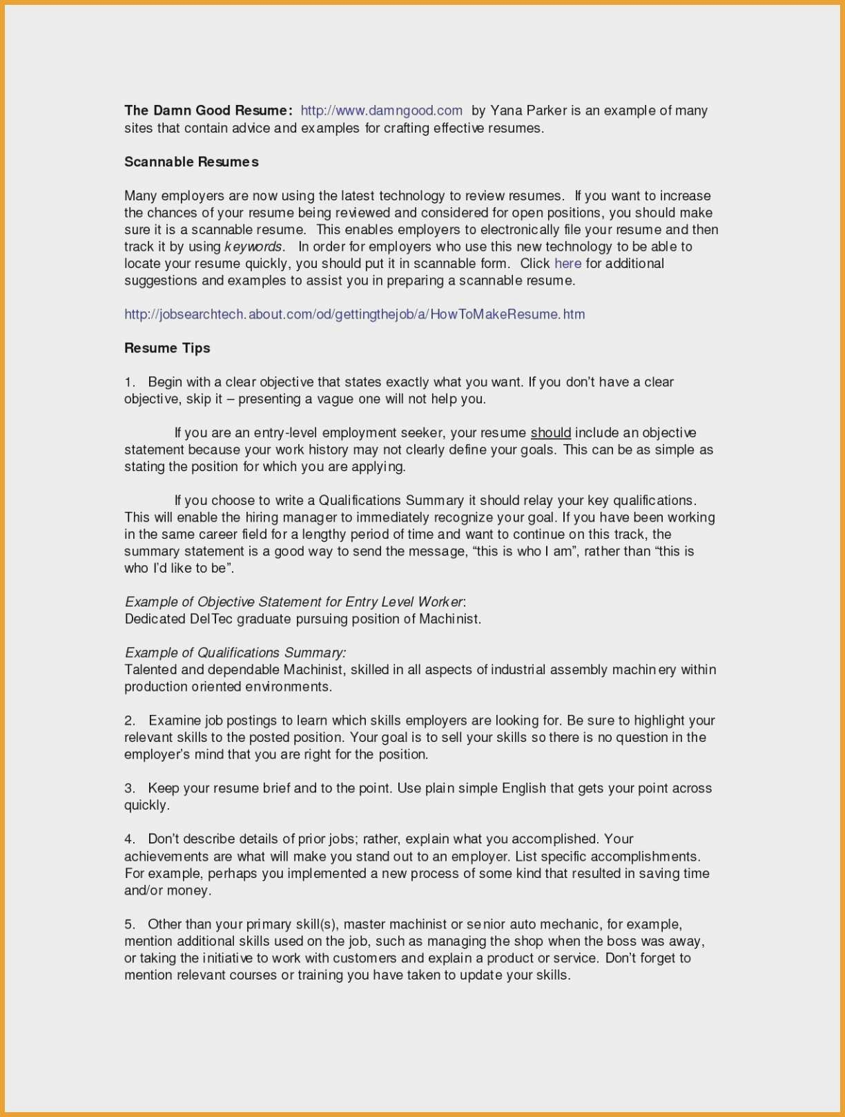 Resume Templates that Stand Out - Objective Resume Templates Artsy Head Quely