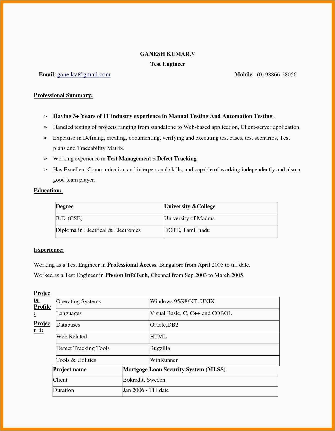 Resume Templates Word 2007 - How to Make A Resume Word 2007 Refrence Resume Templates Word