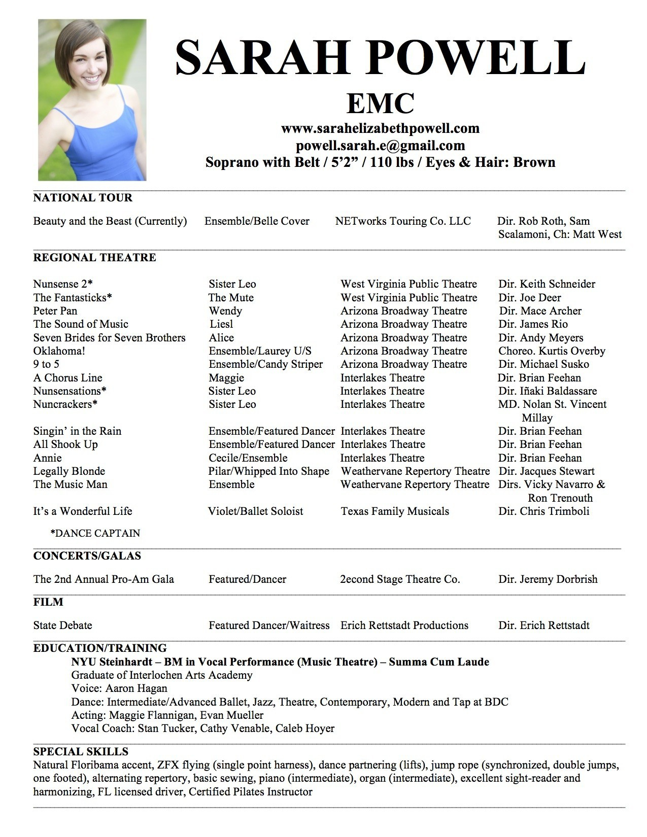 Resume the Music - Music Resume Template Unique Template for Resume Best College Resume