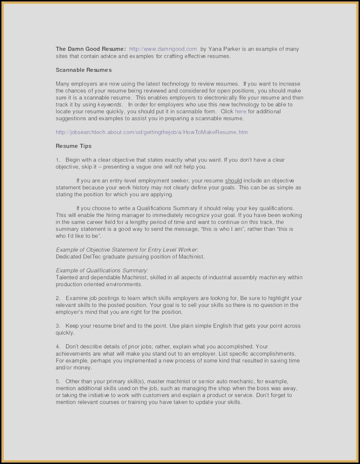 Resume Titles Examples that Stand Out - 19 How to Make My Resume Stand Out