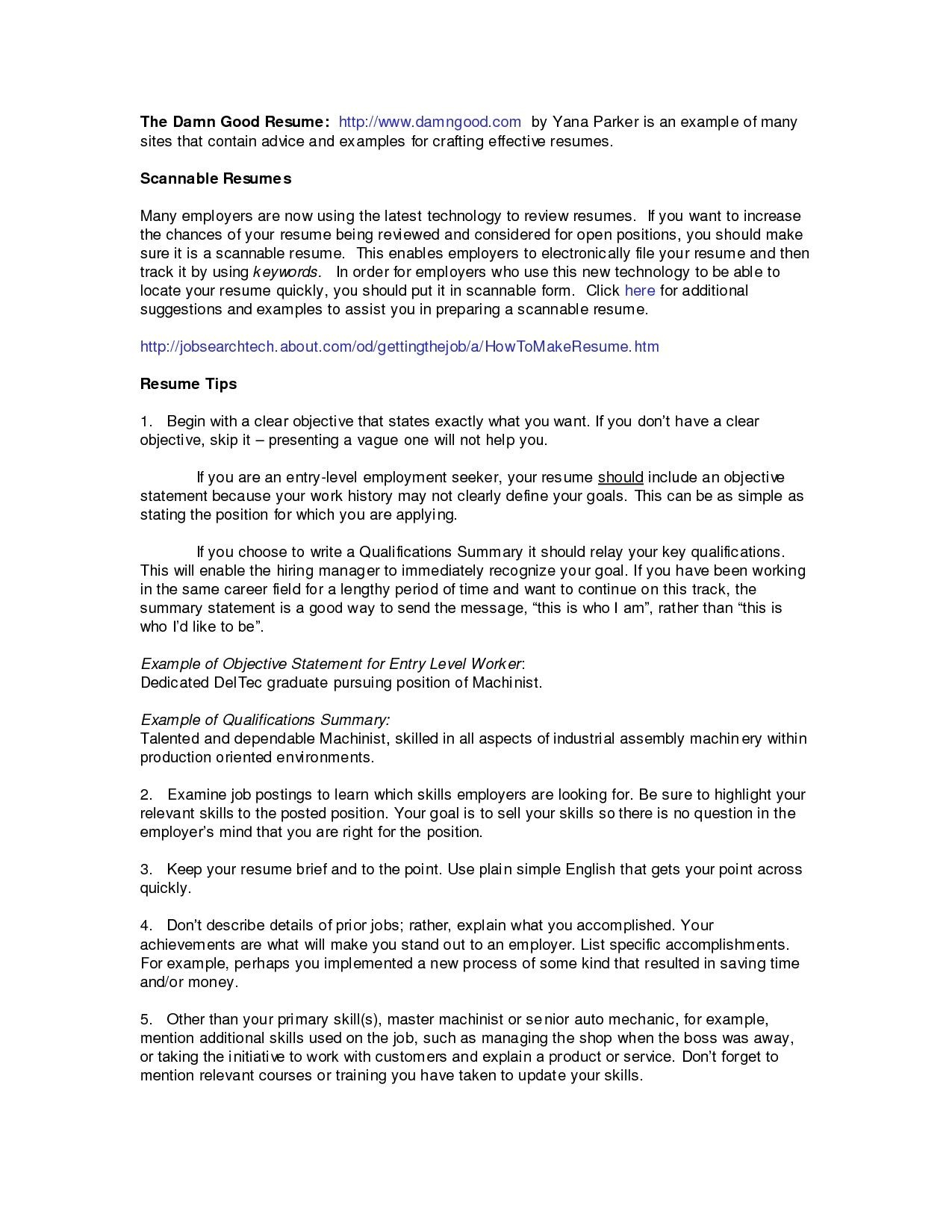 Resume Titles Examples that Stand Out - 17 Resume Titles Examples that Stand Out