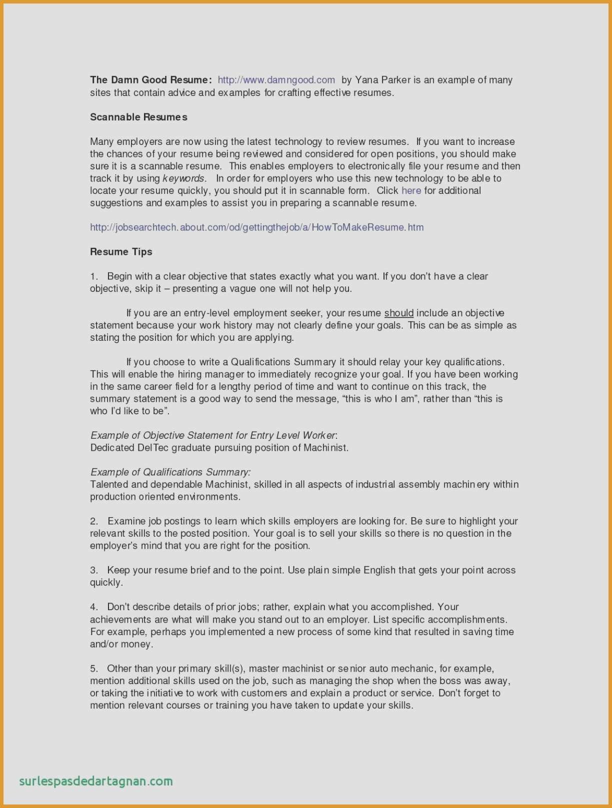 Resume without Work Experience - 85 Beautiful How to Write A Resume with No Work Experience
