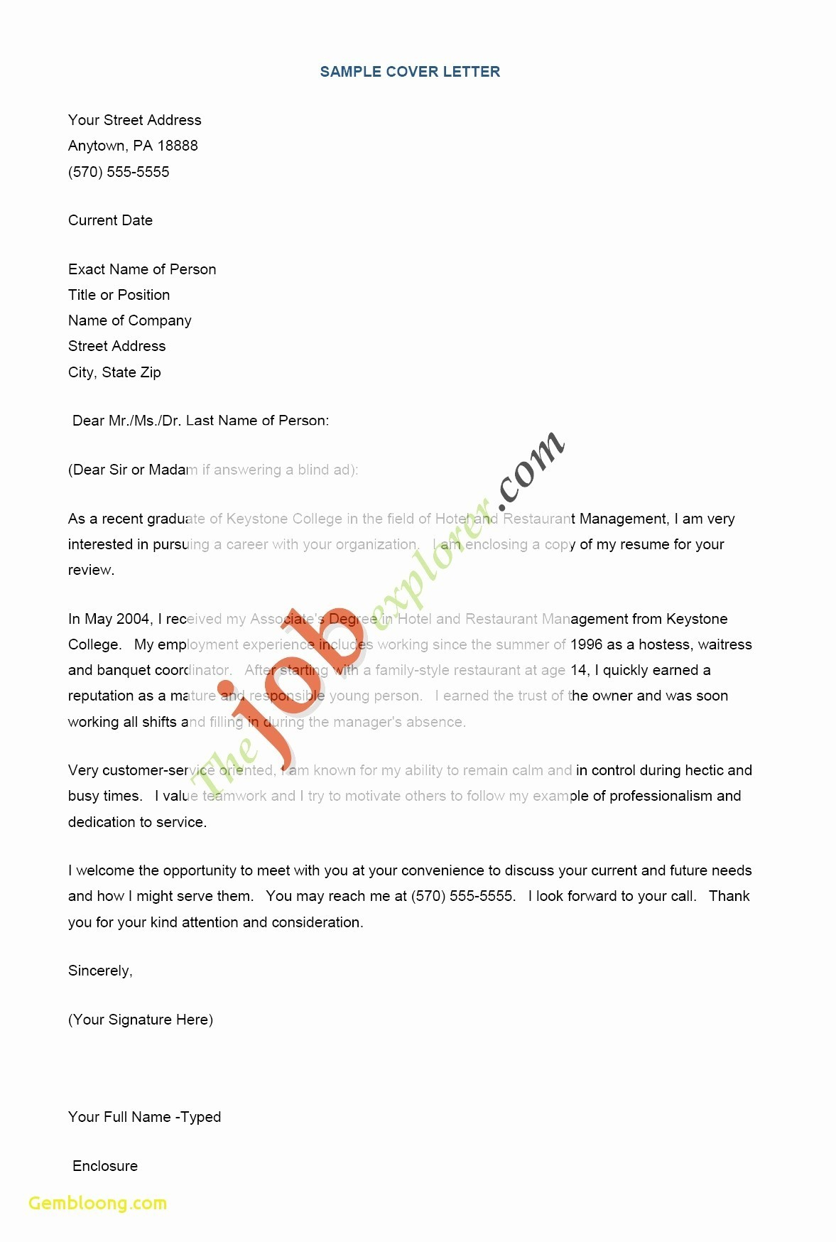 Resume Writer Los Angeles - Examples Cover Letter for Resume Inspirational Resume Services