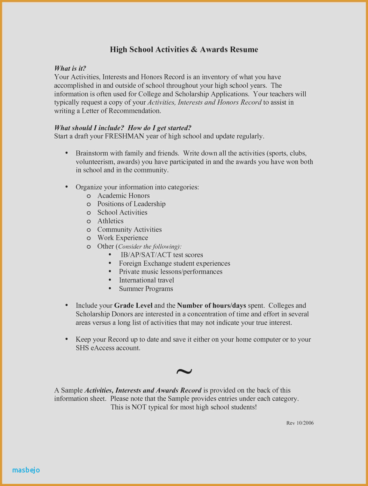 Resumes for College Freshmen - Resume Examples for College Freshmen Resume Examples College Student