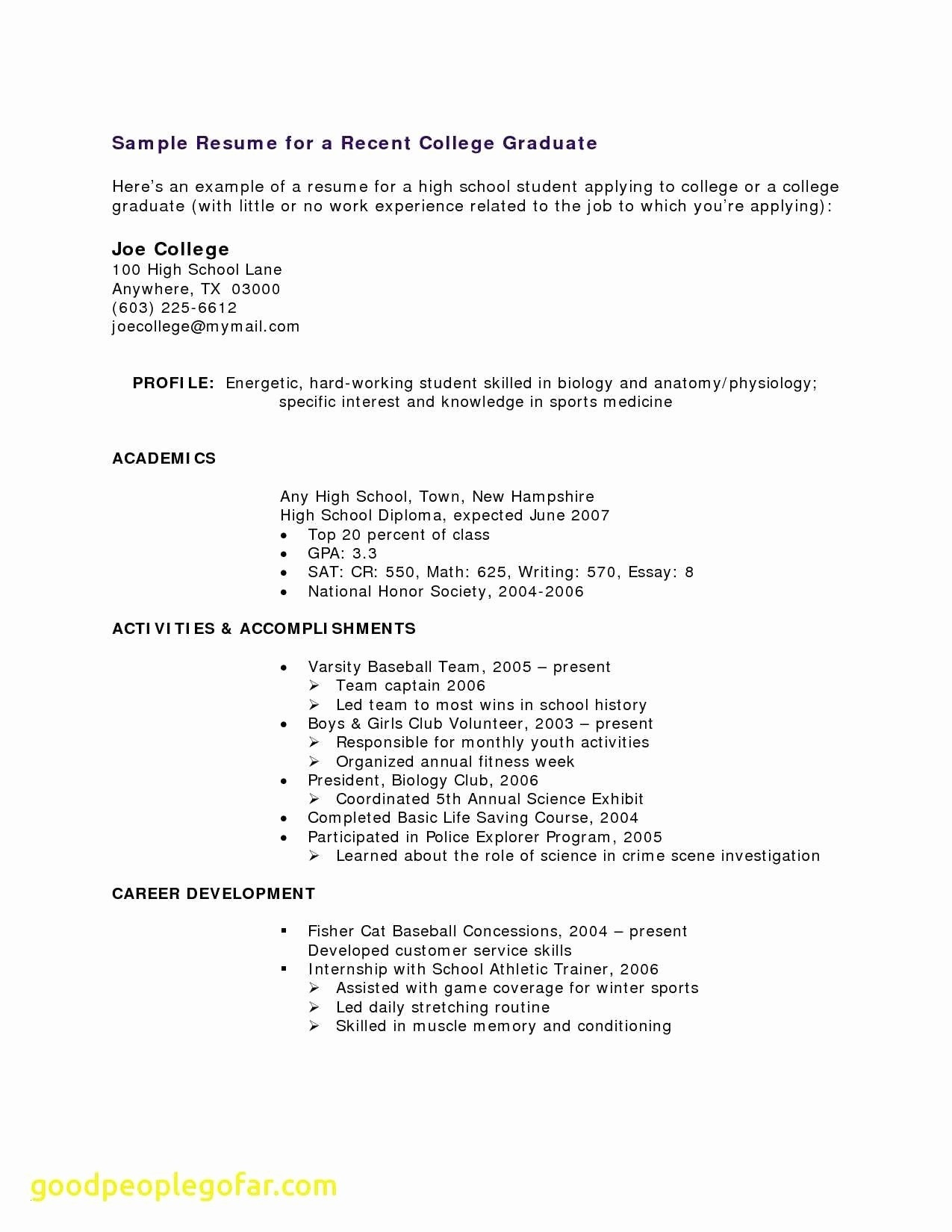 Resumes for College Students - Resume College Student Paragraphrewriter