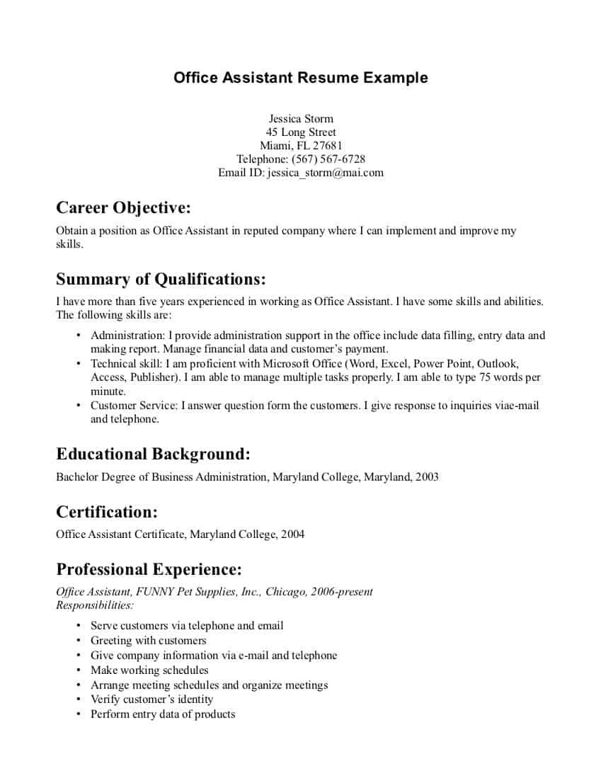Resumes for Medical assistants with No Experience - Resume How Write Project Manager Resume Good Medical assistant