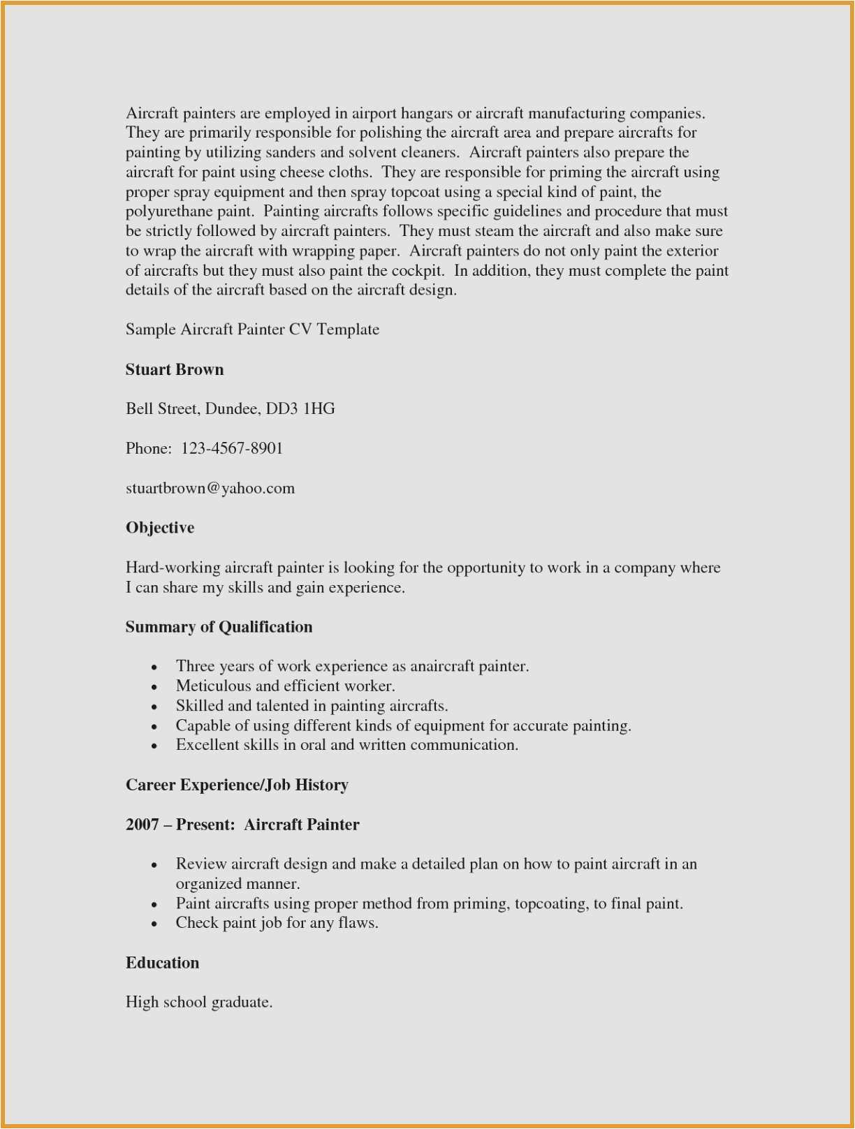 Resumes for Recent High School Graduates - 27 Free High School Resume Examples