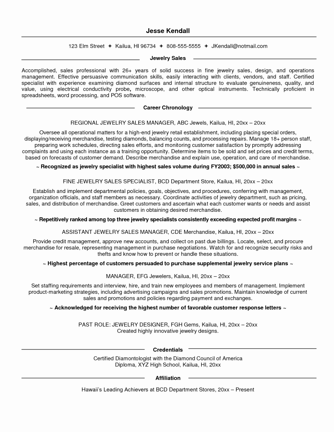 Retail Sales associate Resume Template - 26 New Stock Sample Resume for Retail Sales associate