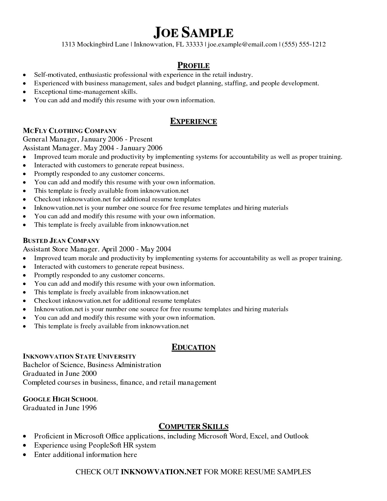 Reverse Chronological Resume Template Word - Chronological Resume format Template Inspirational Free Resume