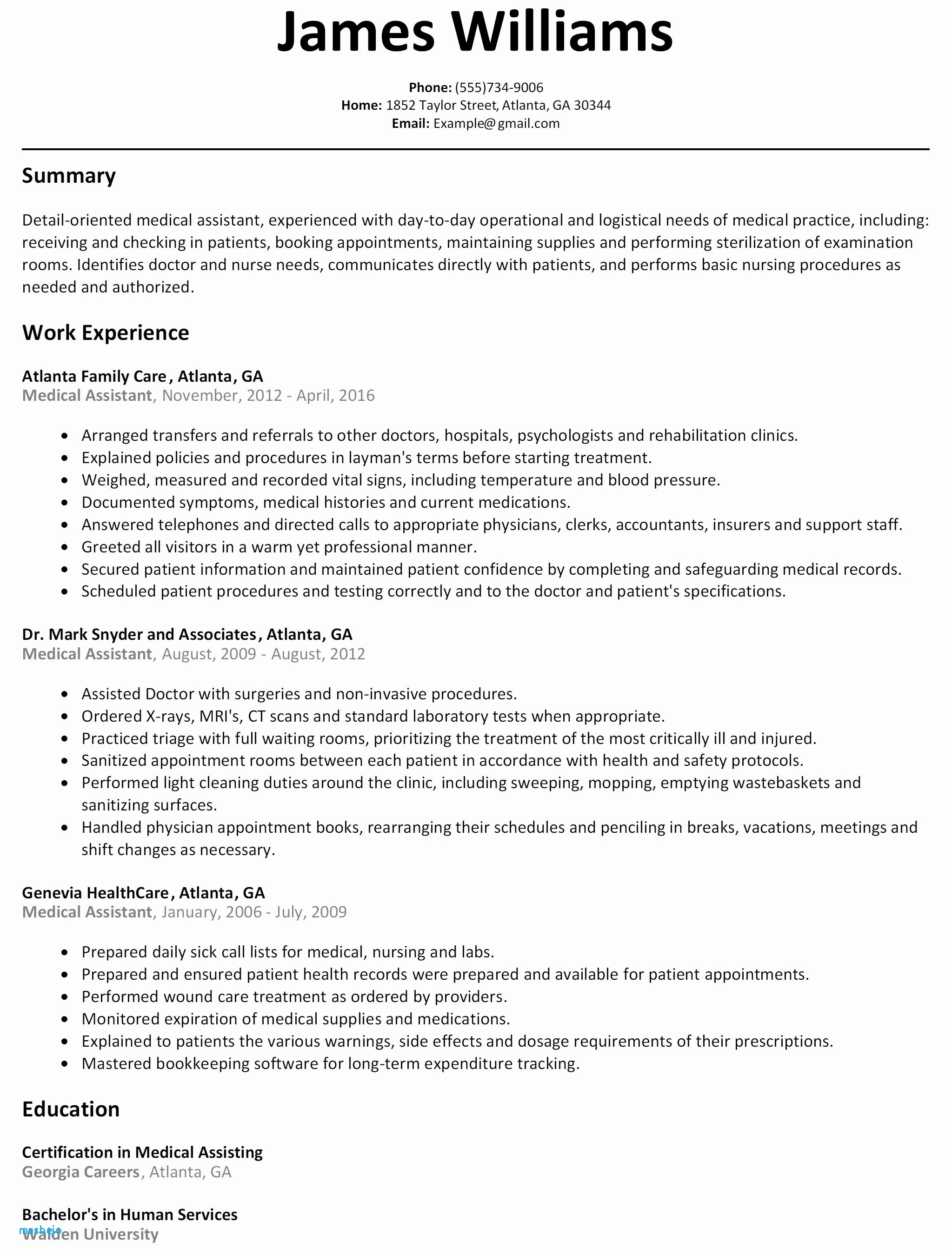 Rn Resume Examples - Experienced Nurse Resume Examples Resume for Nurse Elegant New Nurse