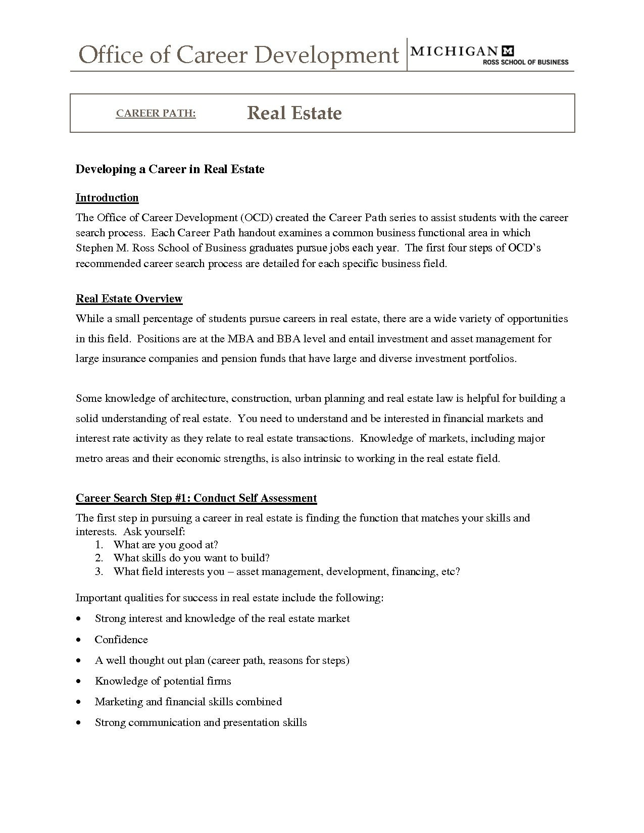 Ross School Of Business Resume Template - Real Estate Agent Resume No Experience Fresh Realtor Resume Example