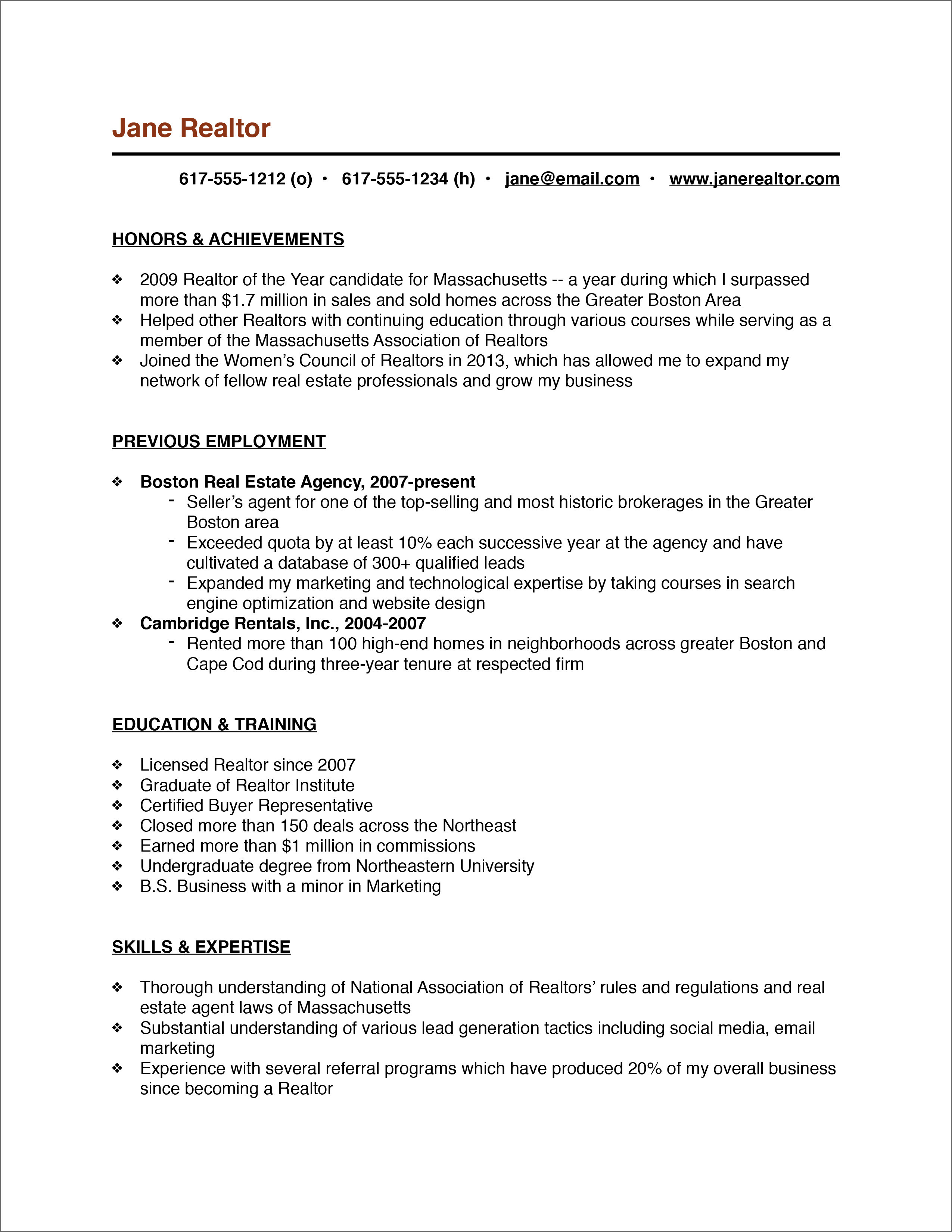 Ross School Of Business Resume Template - Resume Template for Real Estate Agents Reference Entry Level Real